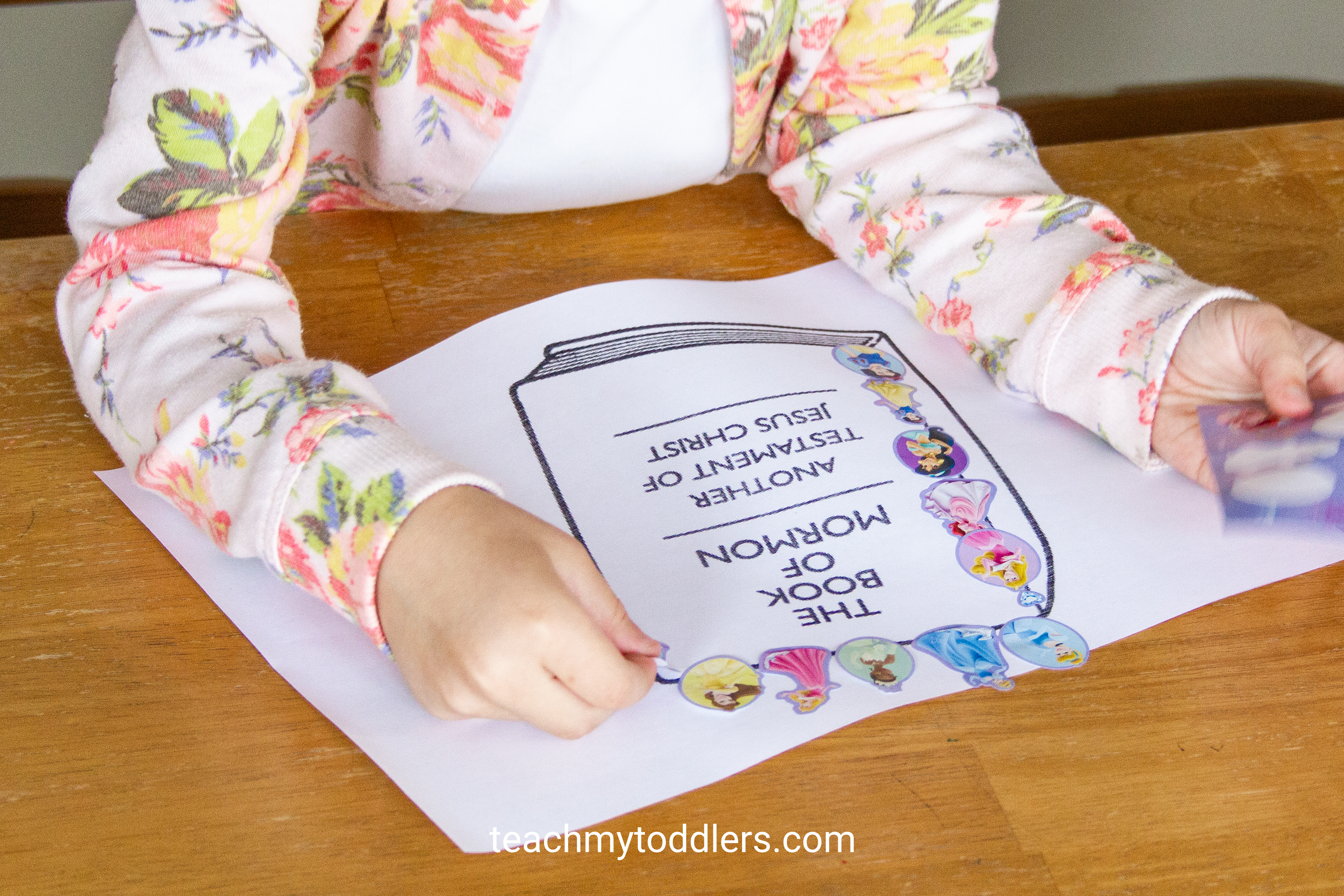 Print out these fun sticker pages for toddlers during general conference