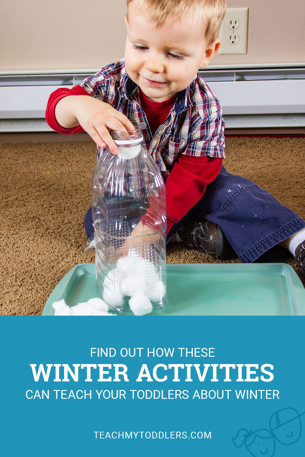 Find out how these winter activities can teach your toddlers about winter