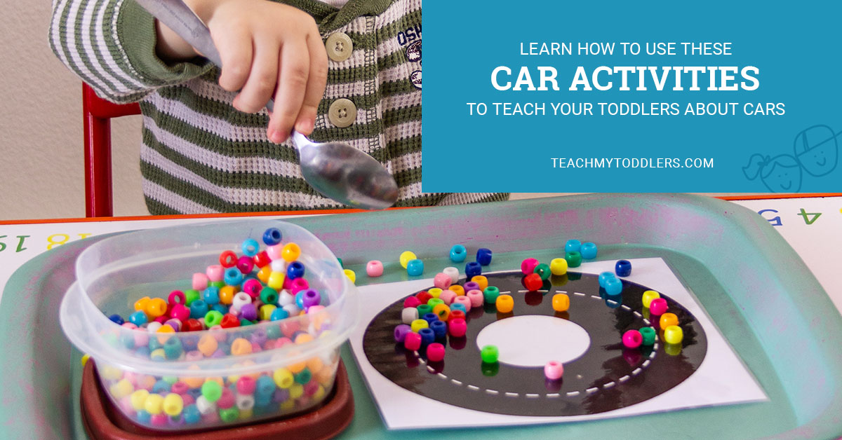 Learn how to use these car activities to teach your toddlers about cars