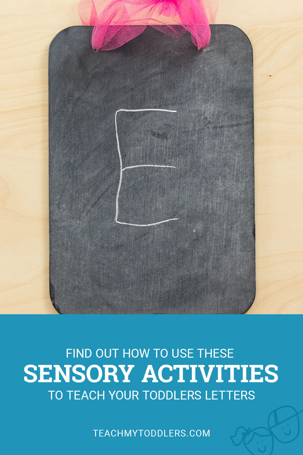 Find out how to use these sensory activities to teach toddlers letters