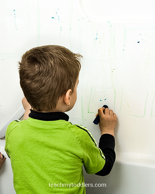 Learn how to use these sensory activities to teach toddlers letters