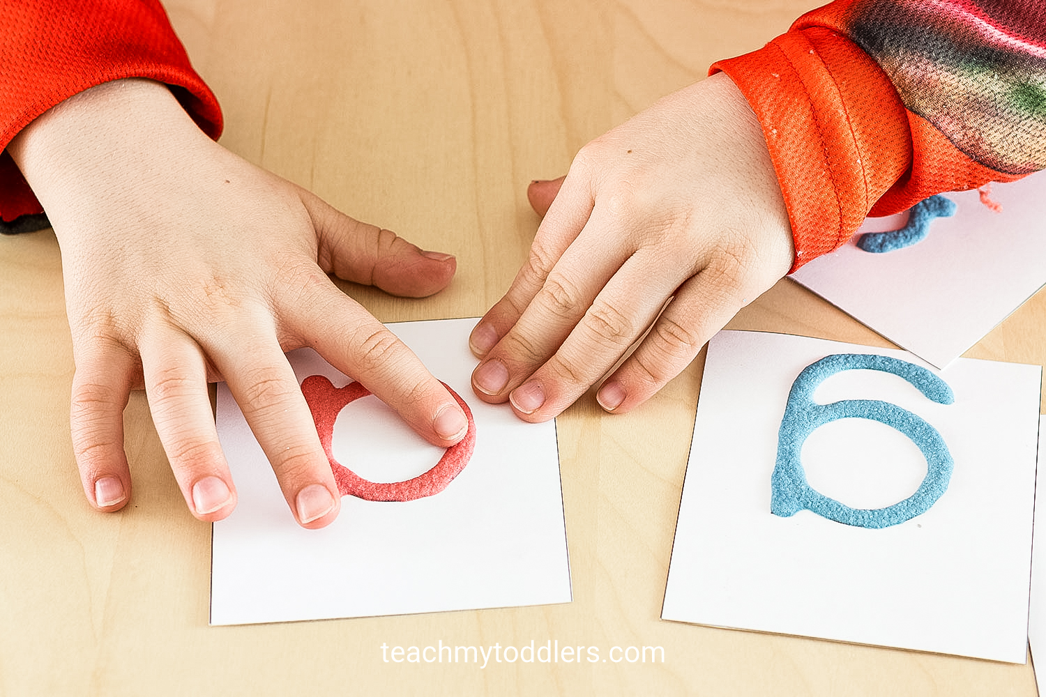 Learn how to use these sensory activities to teach your toddlers letters