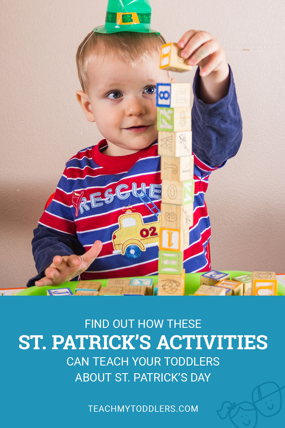 Find out how these St. Patrick's Day Activities can teach toddlers about St. Patrick's Day