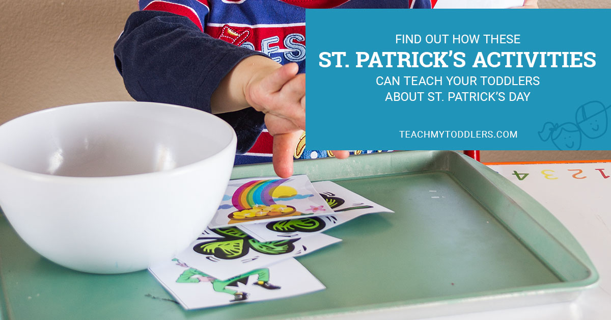Find out how these St. Patrick's Day Activities can teach your toddlers about St. Patrick's Day