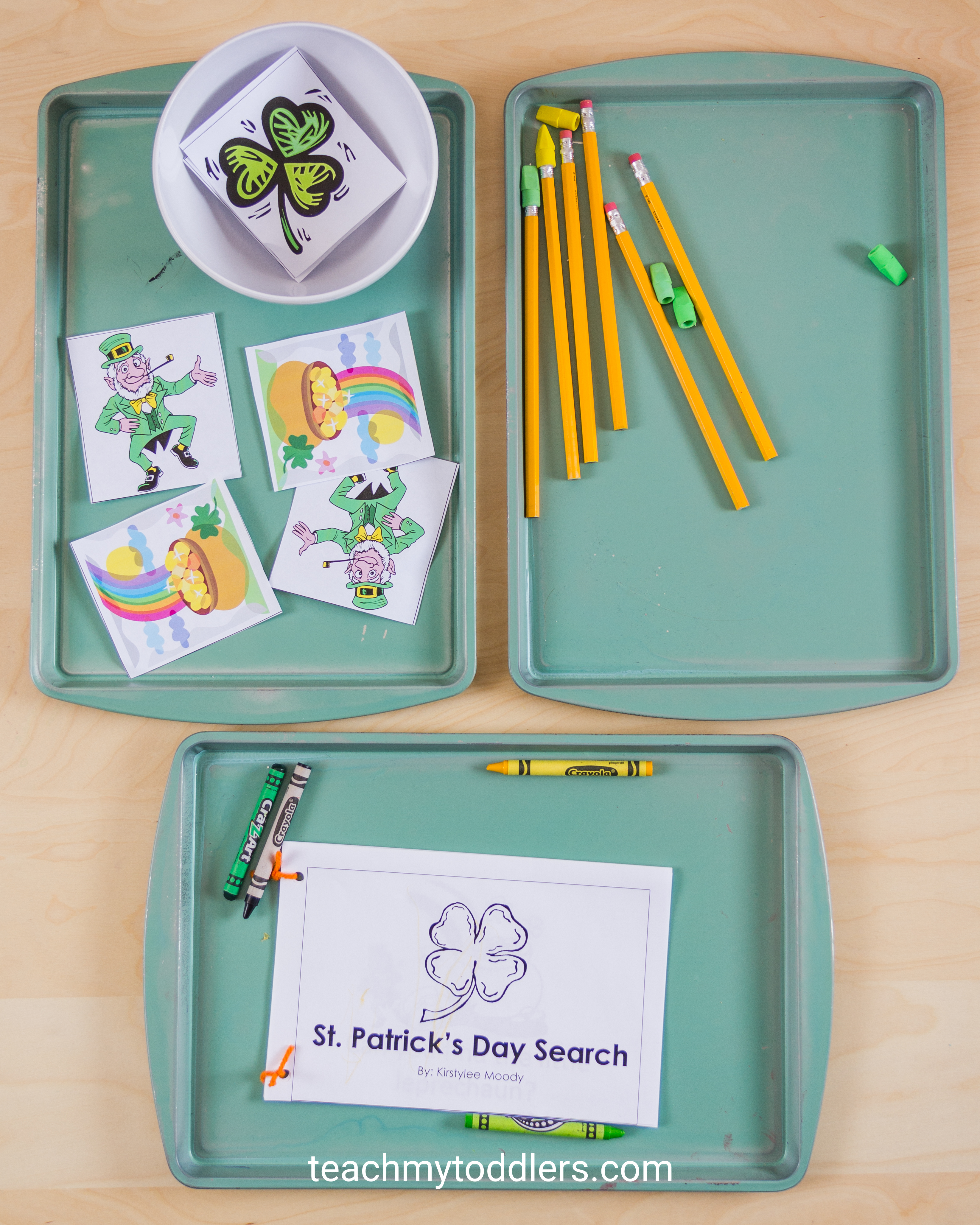 Learn how these St. Patrick's Day Activities can teach toddlers about St. Patrick's Day