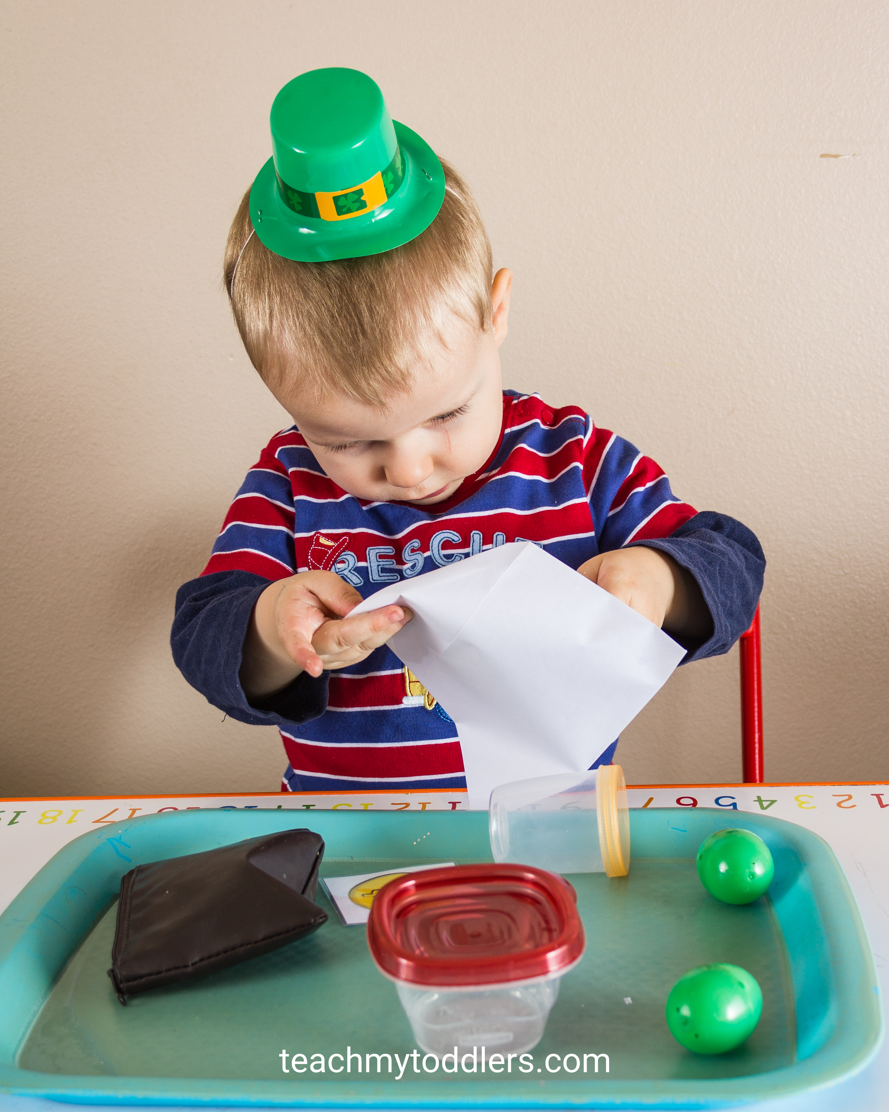 Teach toddlers about St. Patrick's Day with these fun activities