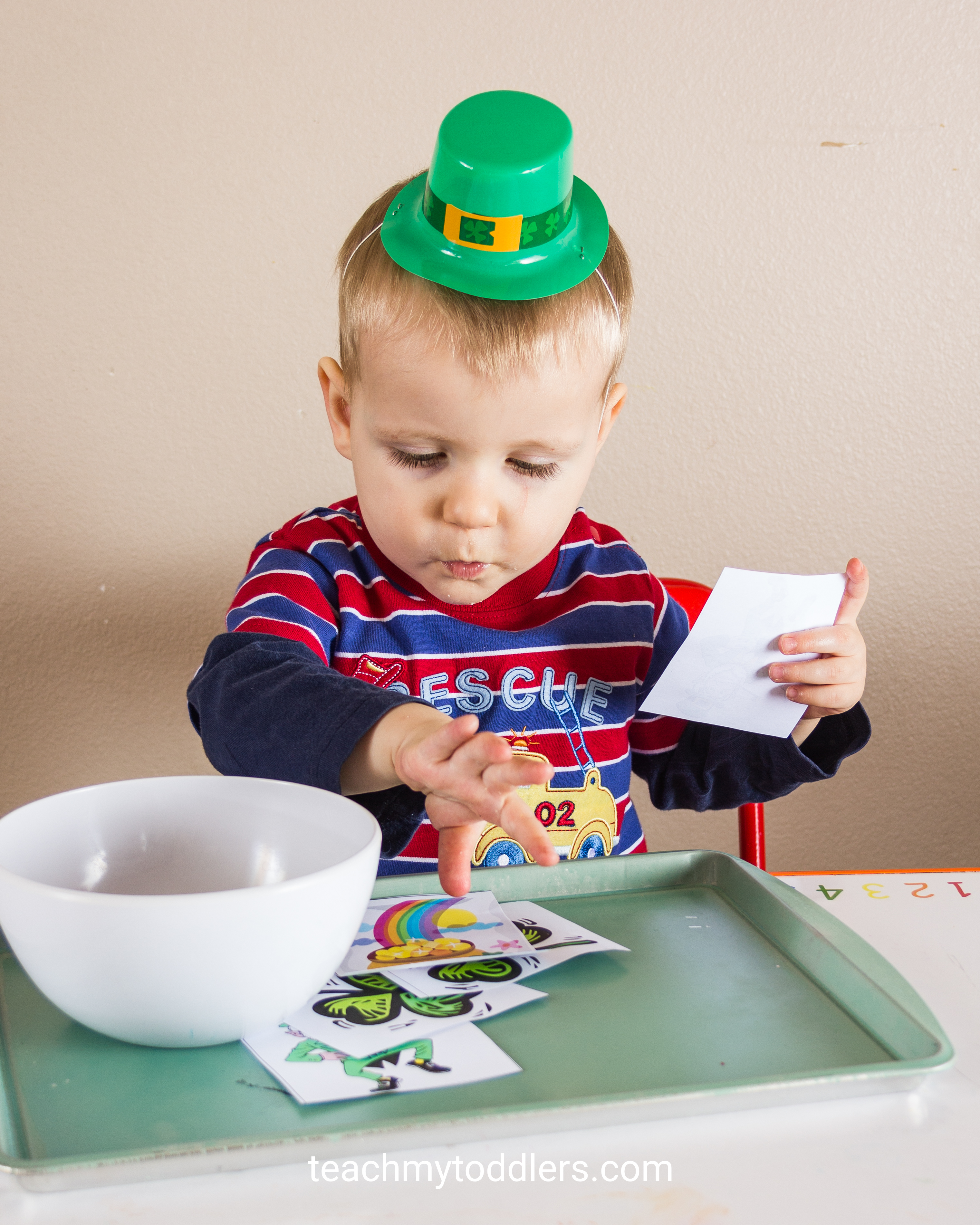 Teach toddlers about St. Patrick's Day with these unique activities