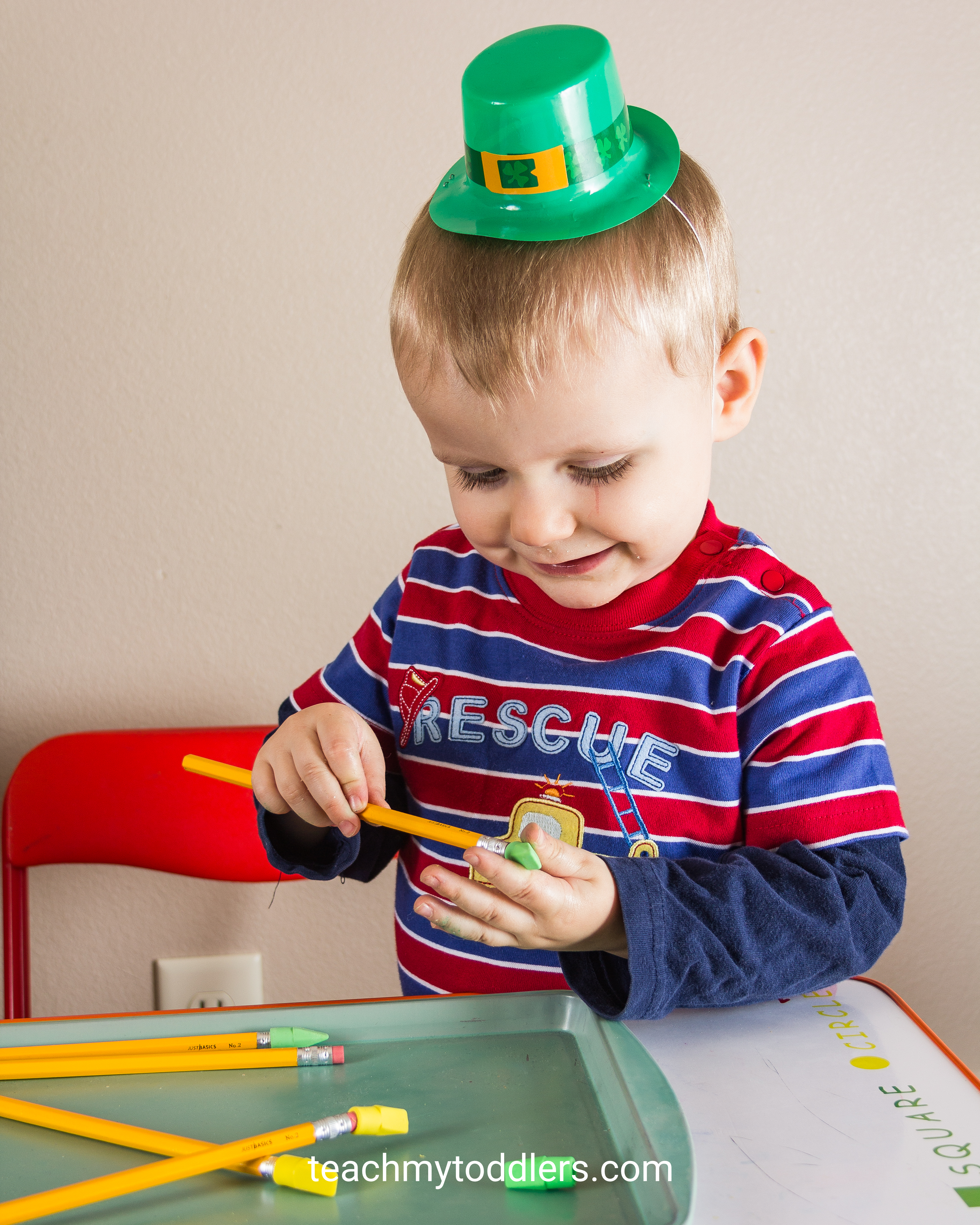 Teach your toddlers about St. Patrick's Day with these fun activities