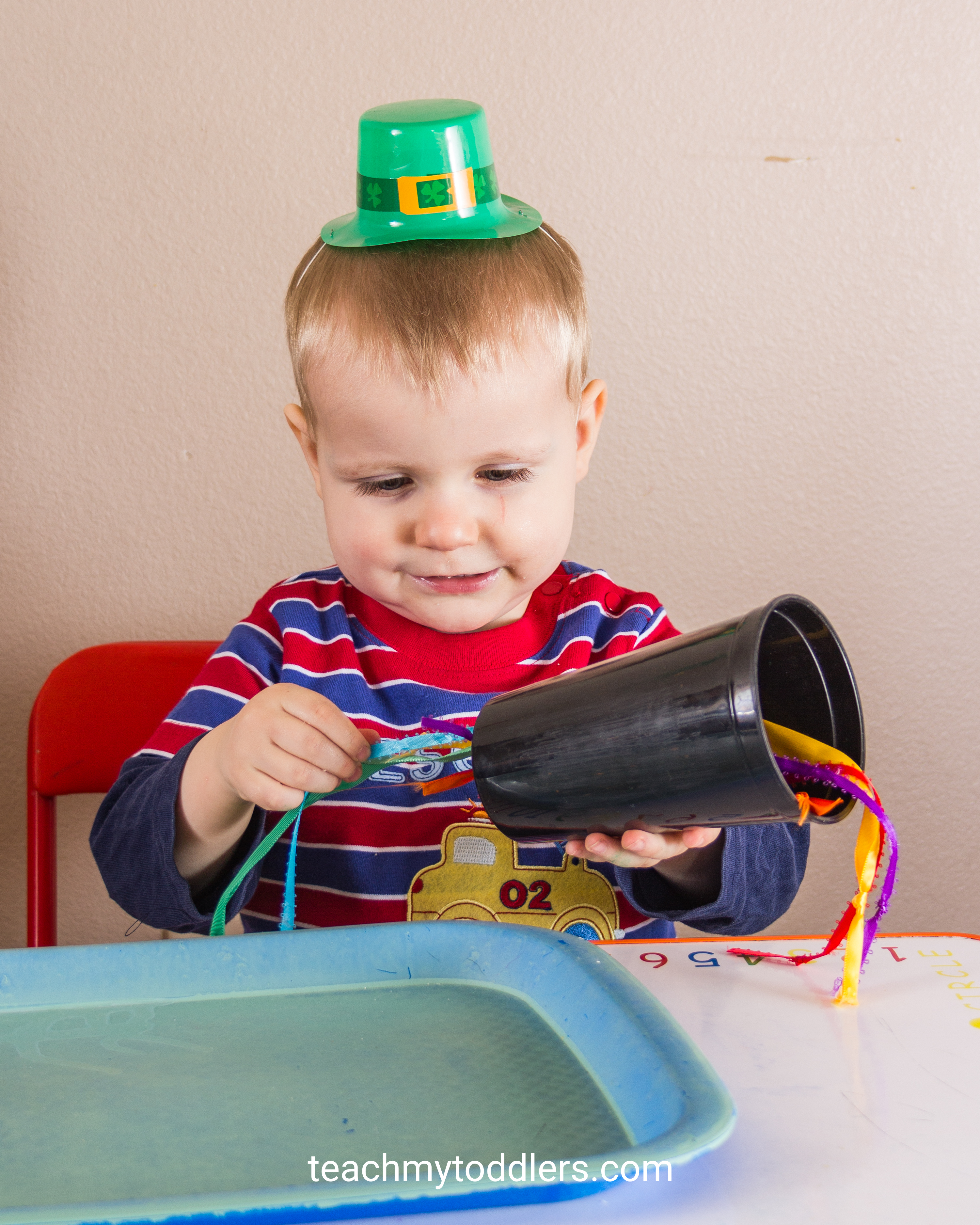 Use these exciting St. Patrick's Day activities to teach toddlers about st. patrick's day