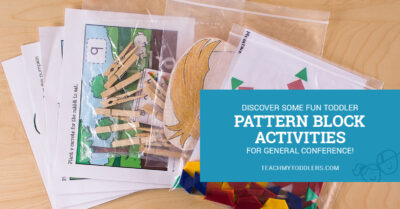 LDS General Conference Activities To Teach Your Toddlers