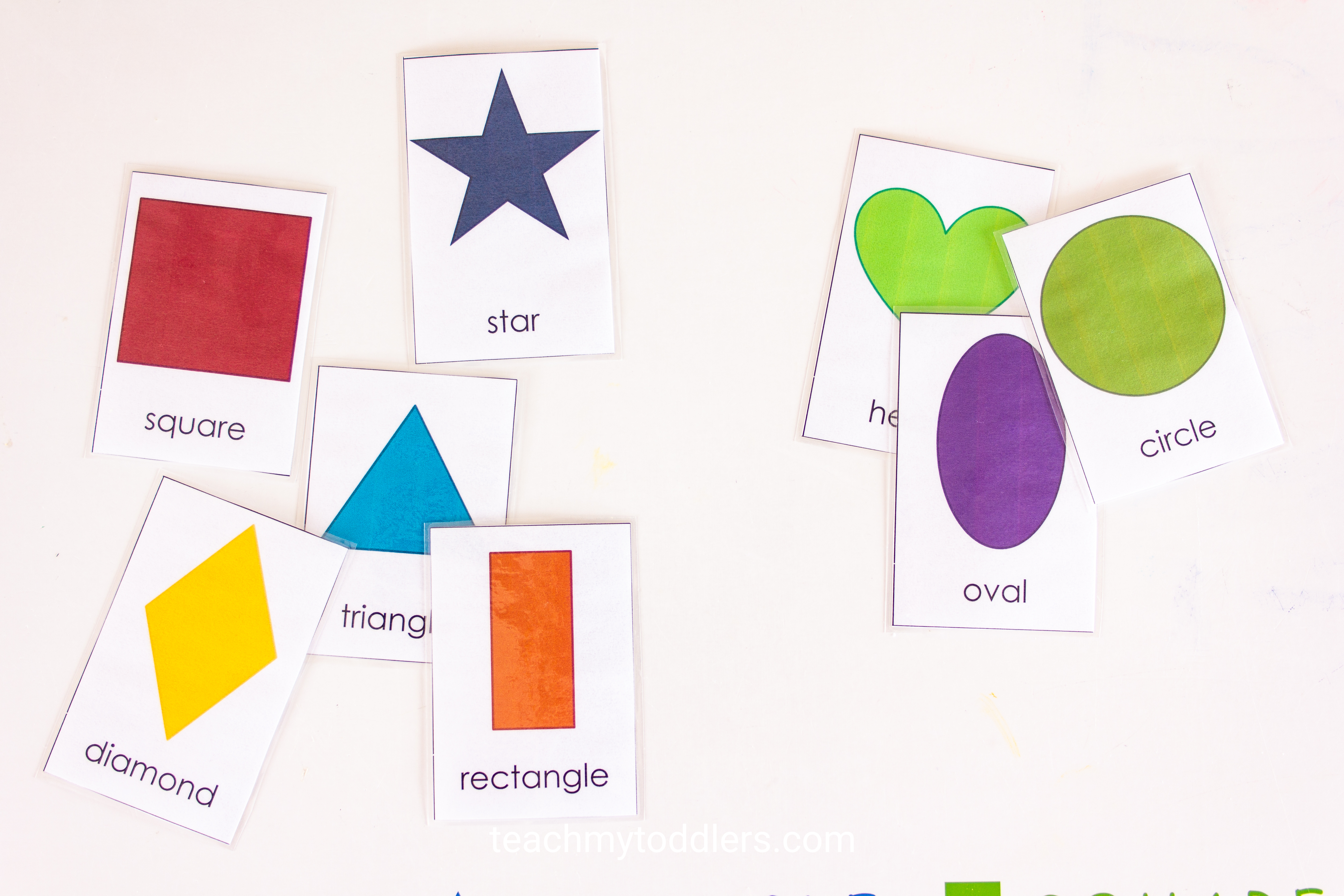 Learn how to use this fun shape cards activity to teach your preschoolers shapes