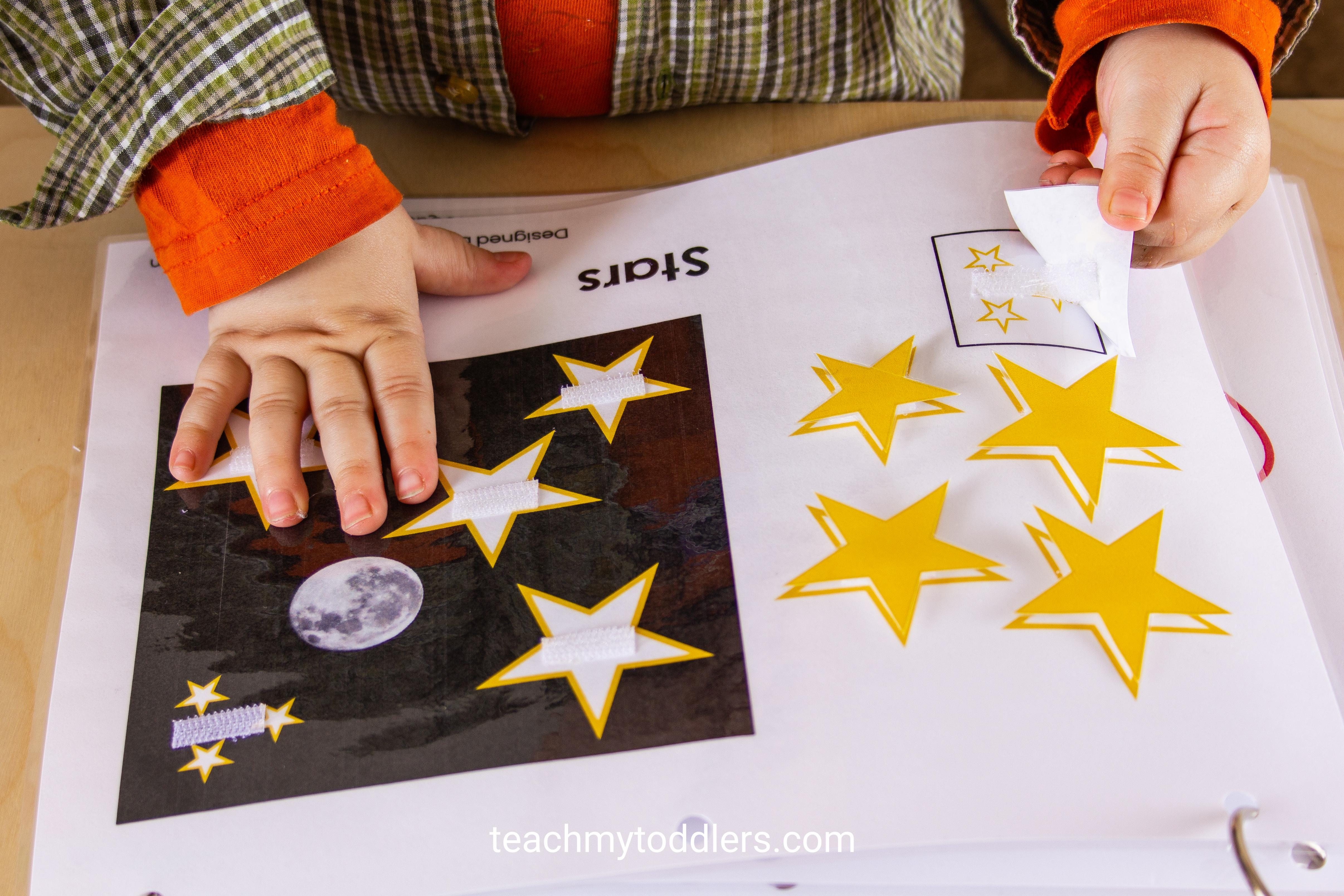 Learn how to use this shapes quiet book to teach toddlers shapes