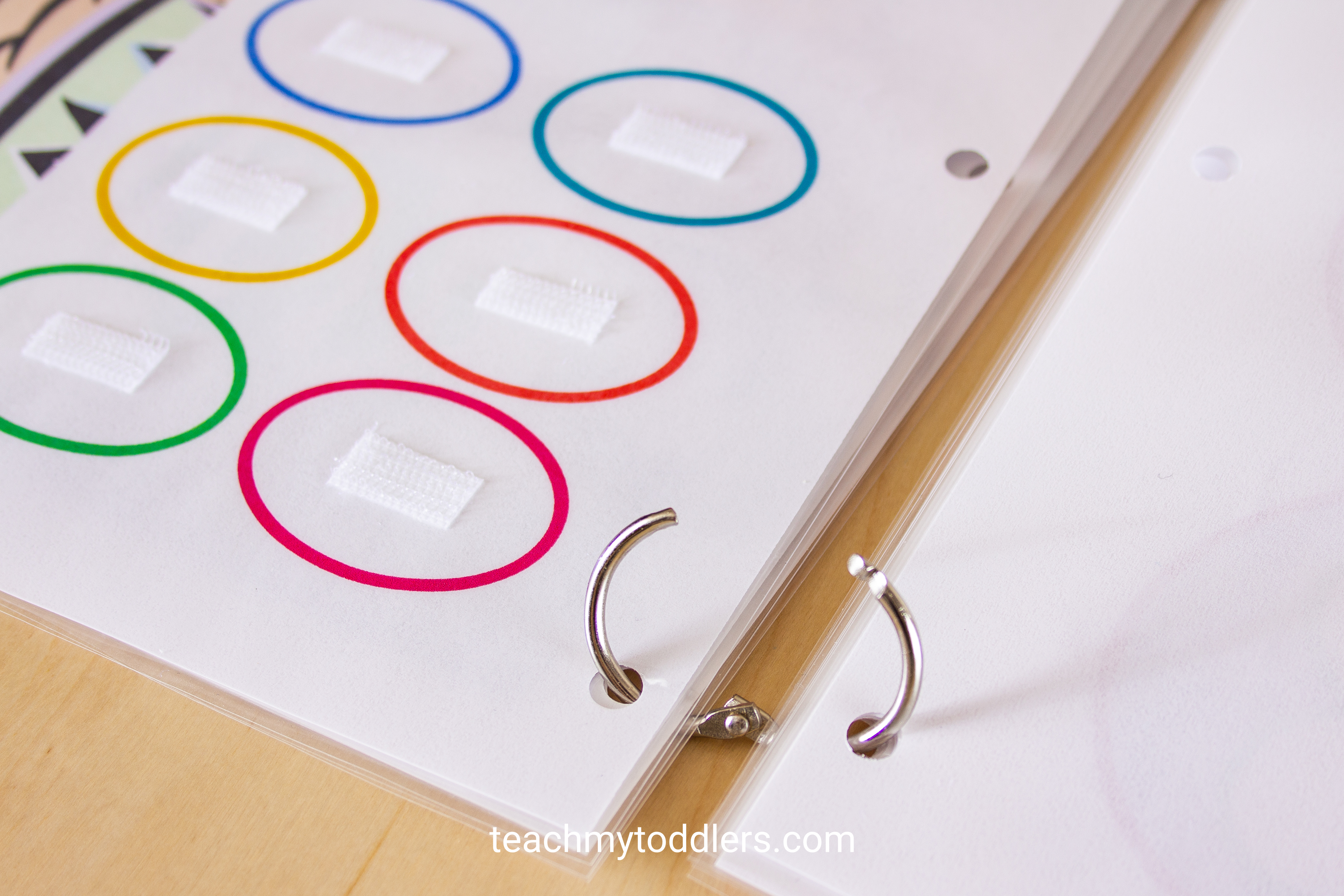 Teach your toddlers shapes with this unique shapes quiet book