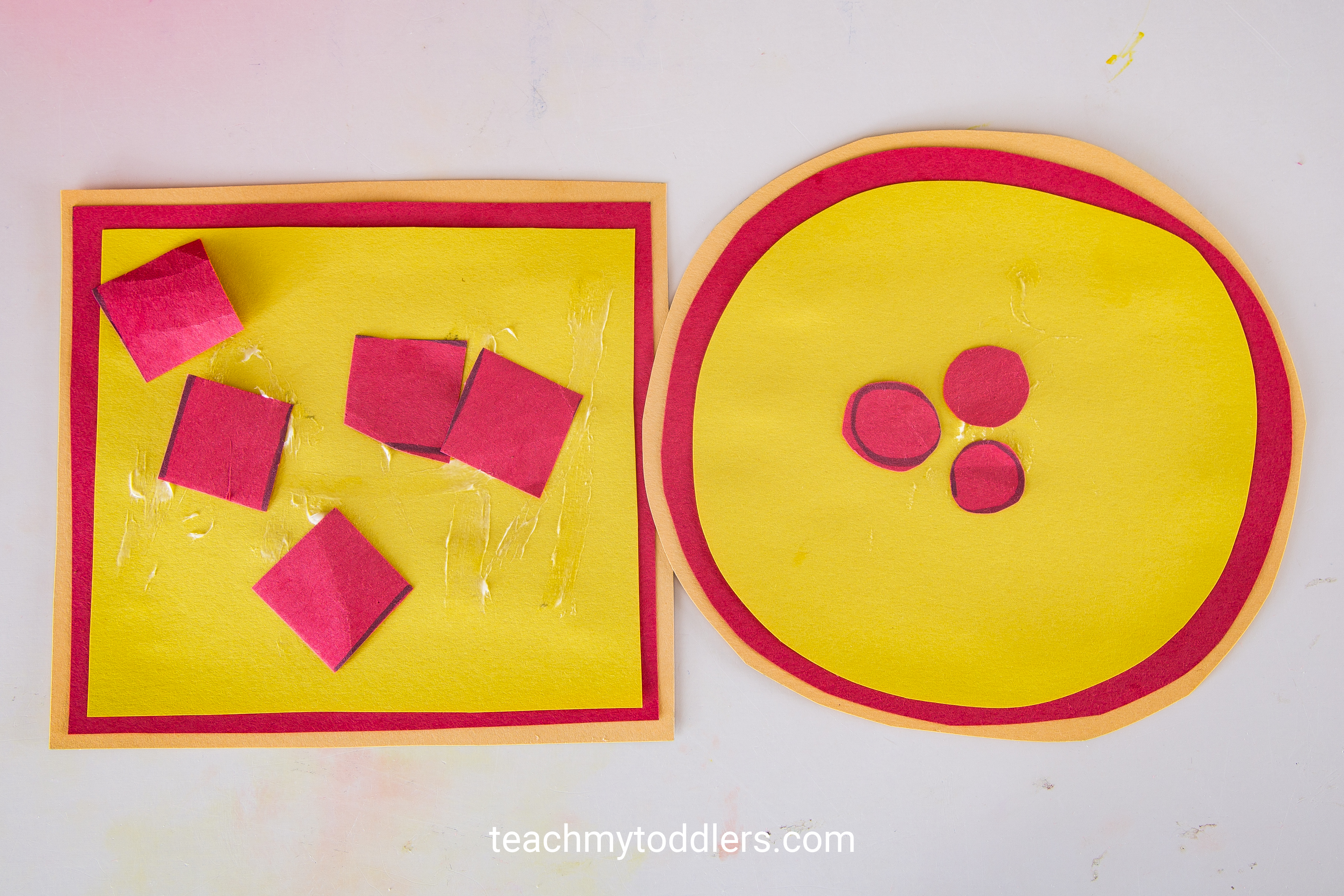 Discover how to use this pizza game to teach your toddlers shapes