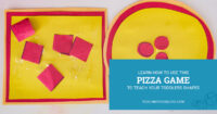 Learn how to use this pizza game to teach toddlers shapes