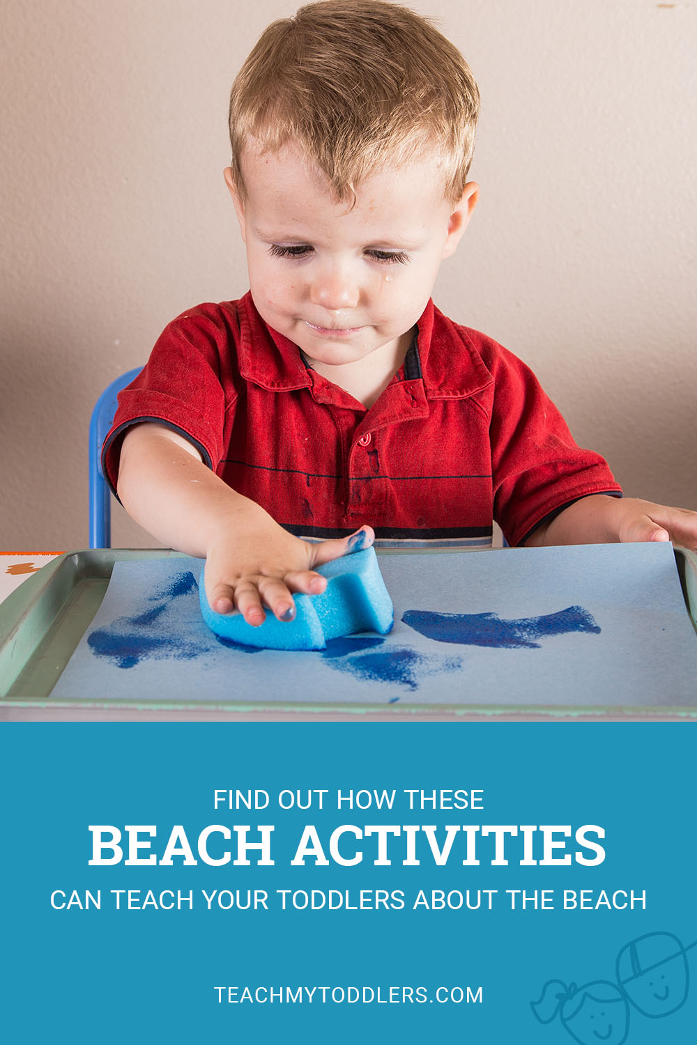 Find out how these beach activities can teach toddlers about the beach