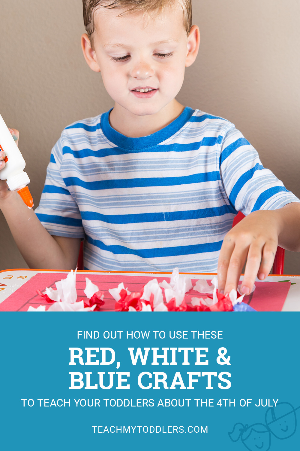 Find out how to use these red, white and blue toddlers about the 4th of july
