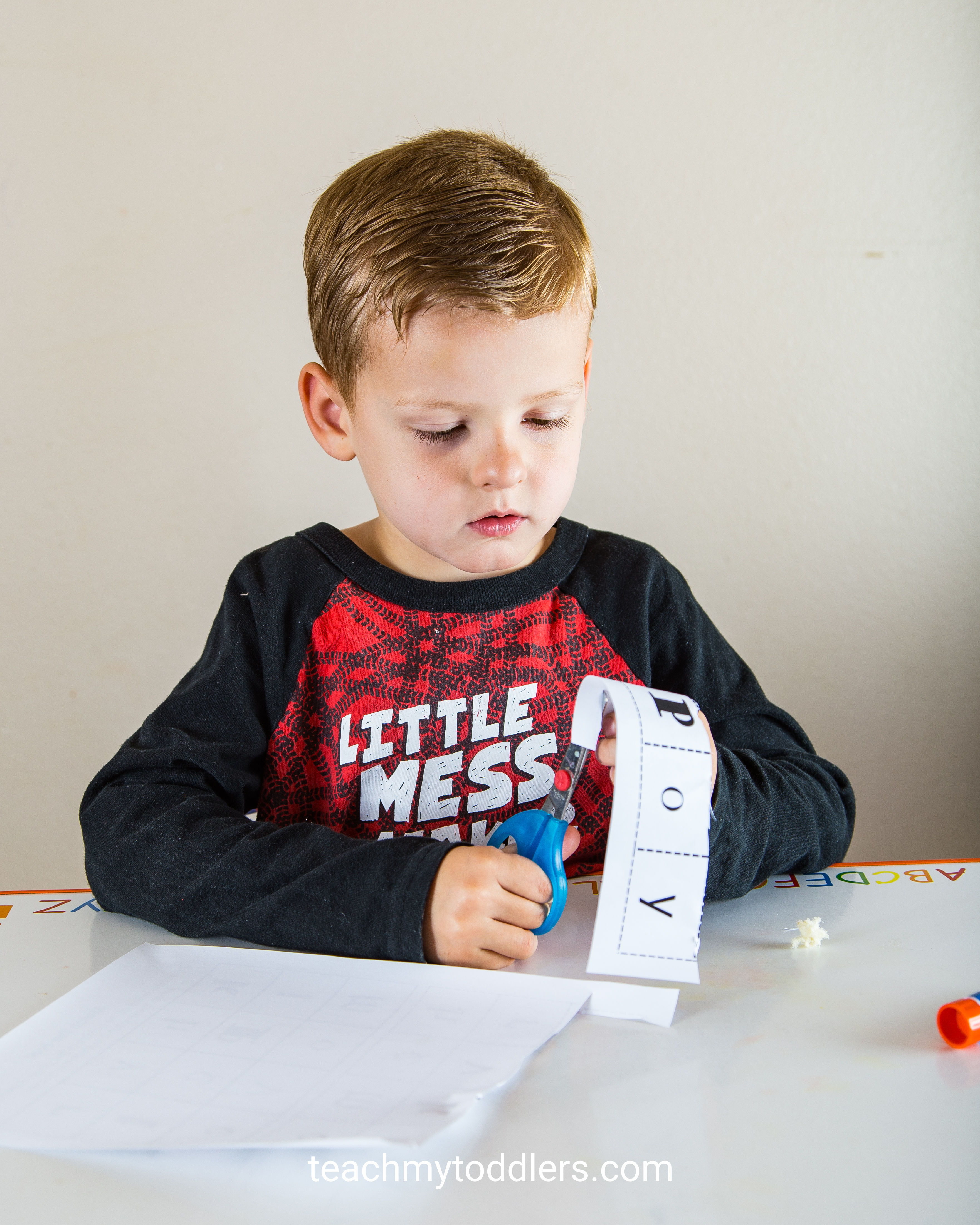 Find out how to use this match the font worksheet to teach toddlers letters