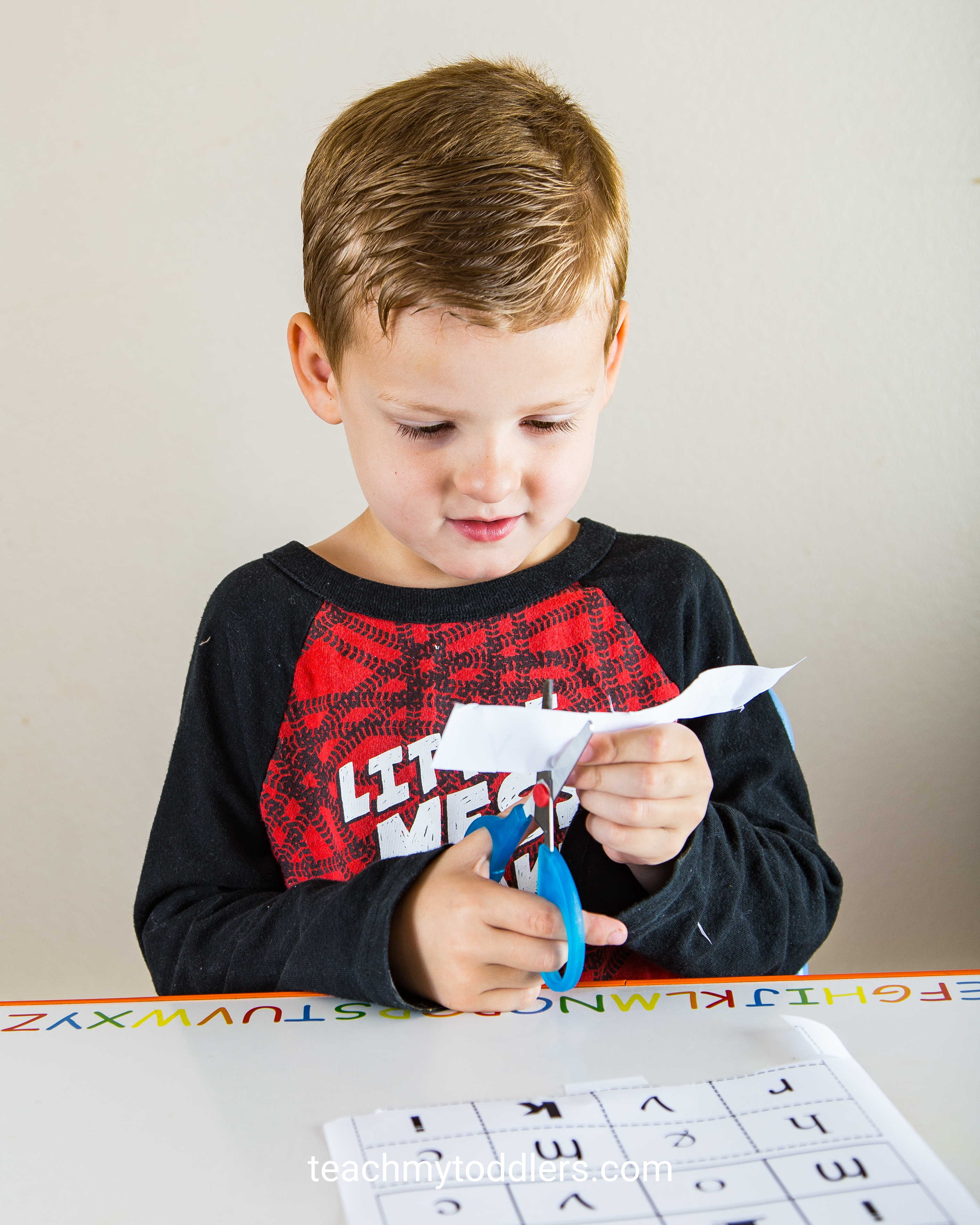 Find out how to use this match the font worksheet to teach your toddlers letters