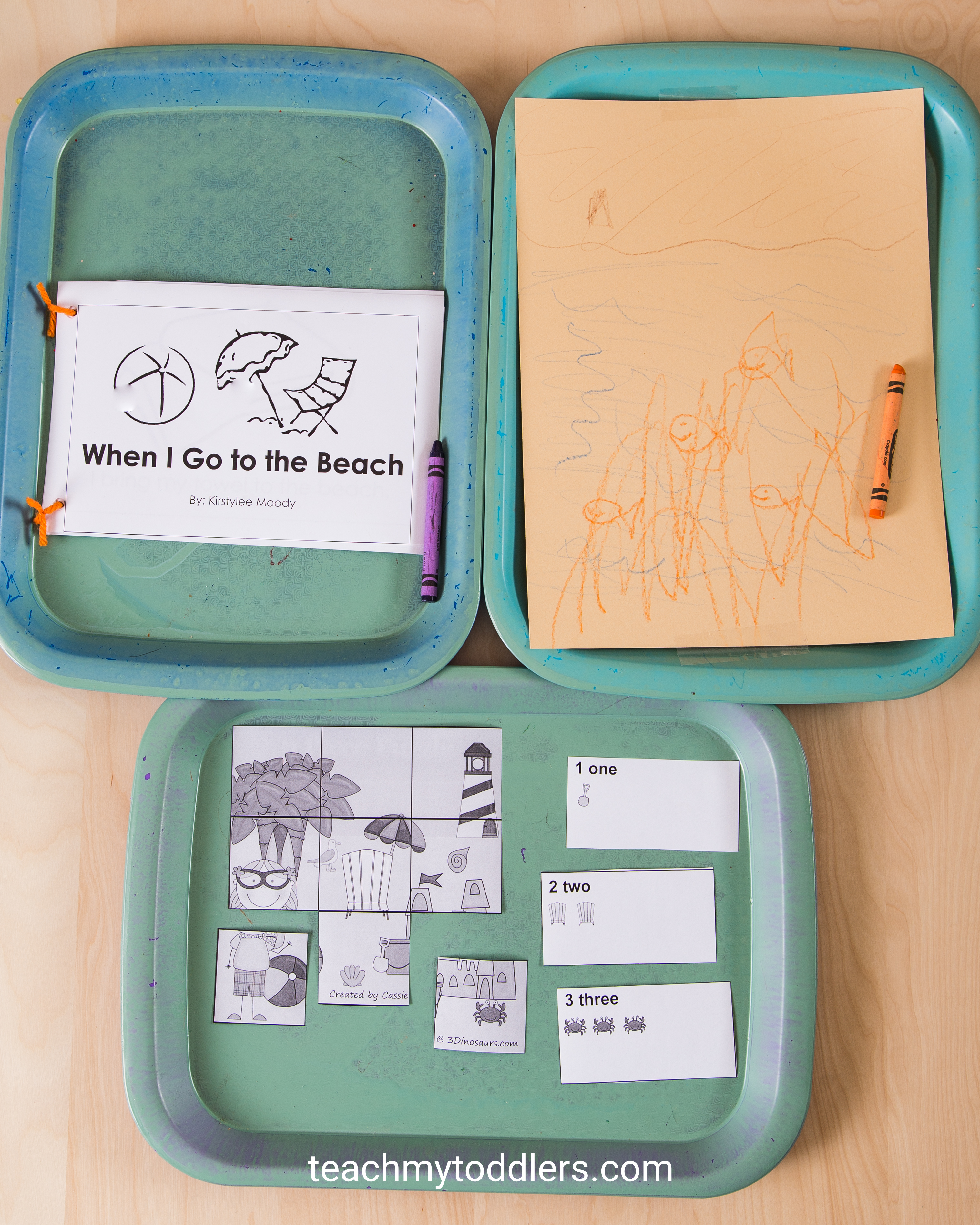 Learn how these beach activities can teach your toddlers about the beach