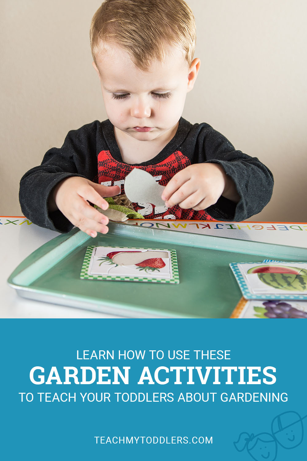 Learn how to use these garden activities to teach toddlers about gardening