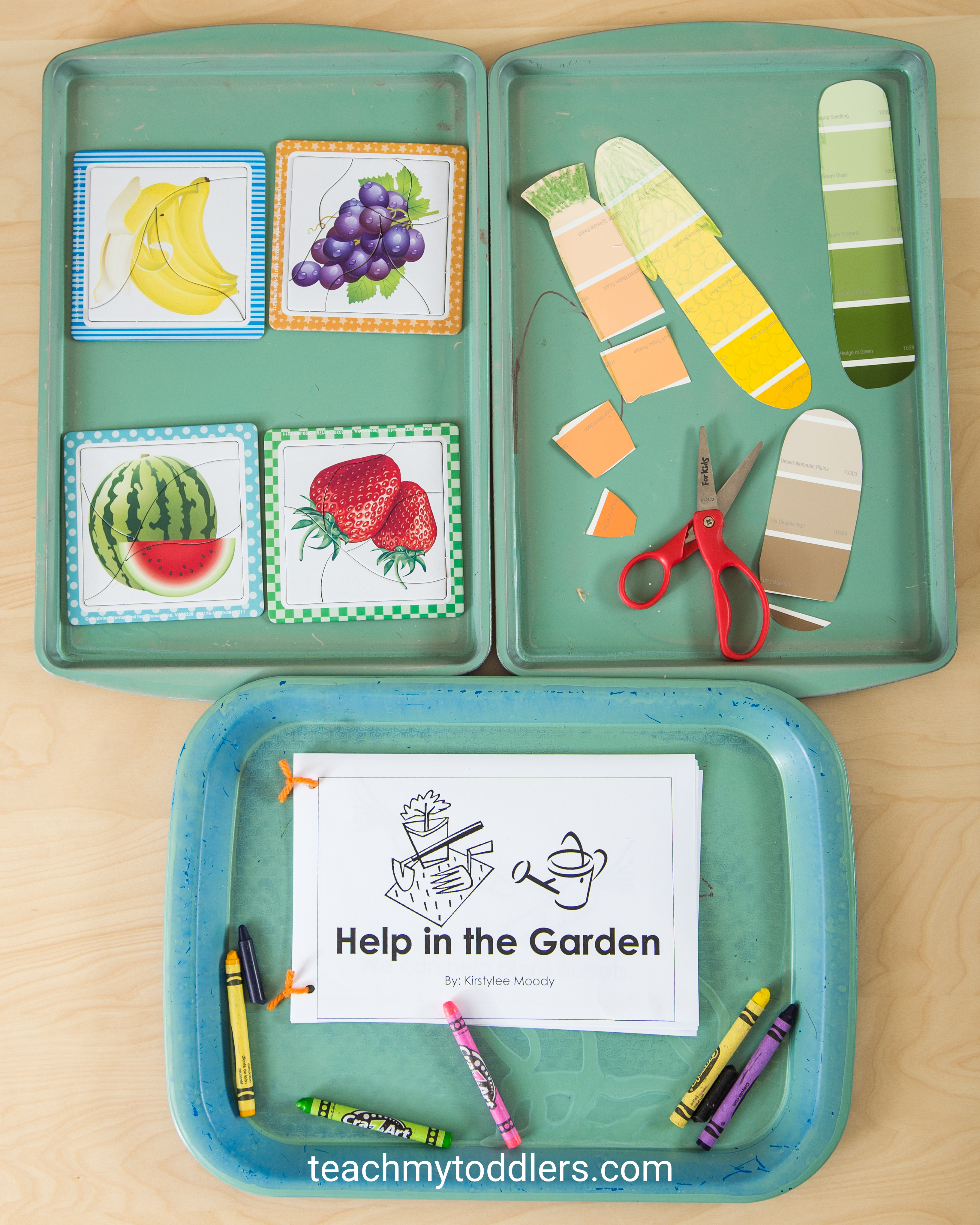 Use these awesome garden activities to teach toddlers about gardening