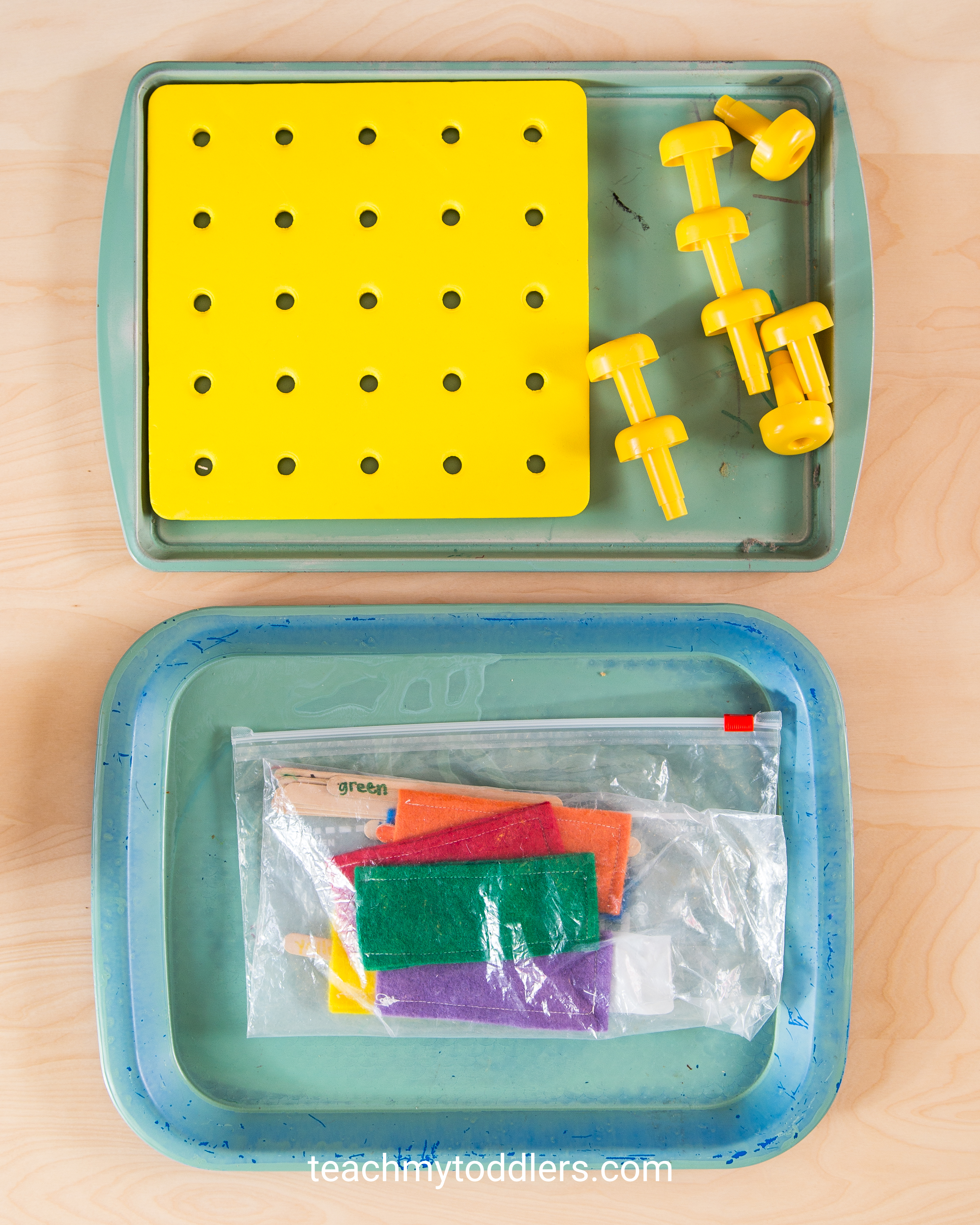 A fun game to teach your toddler the color yellow