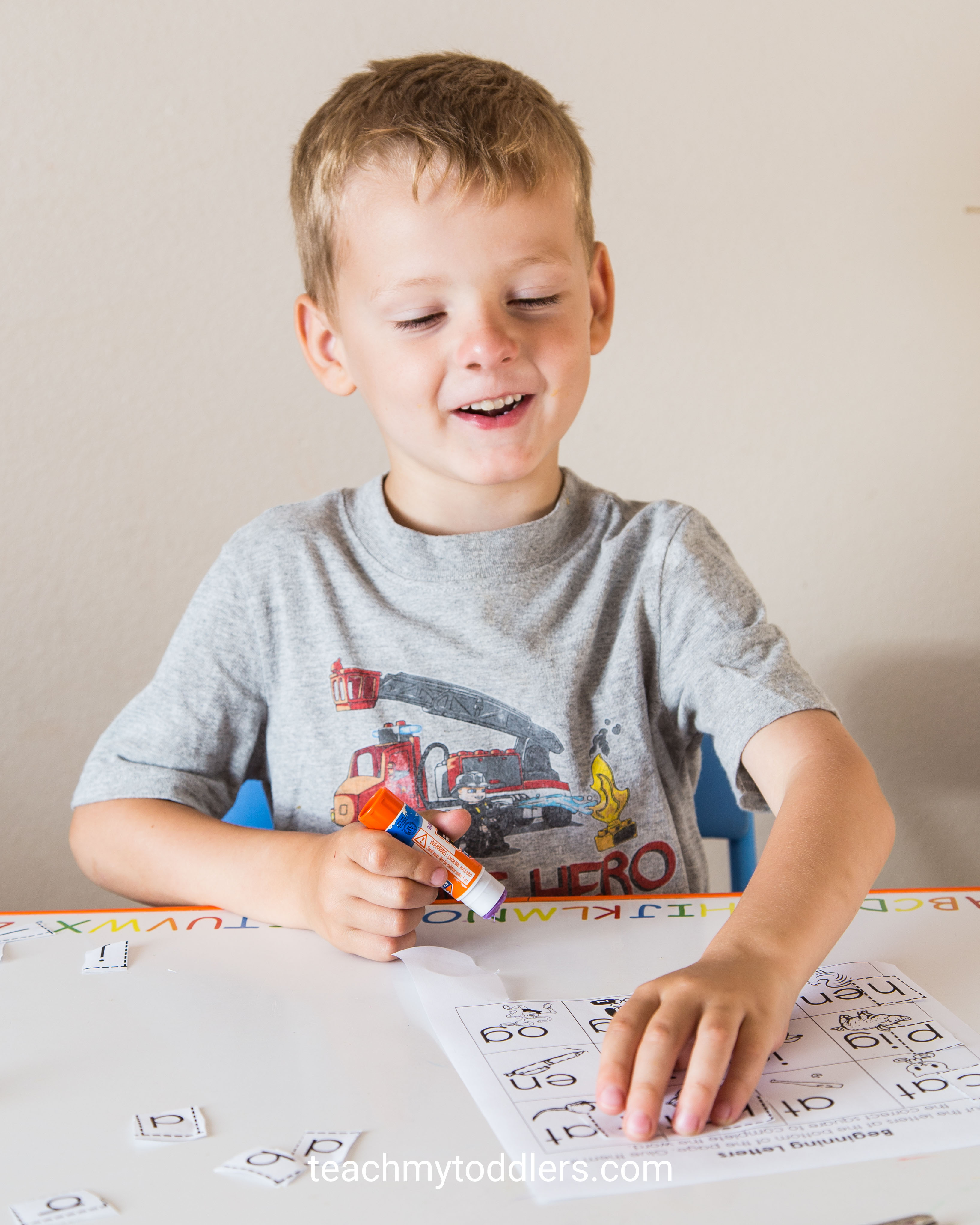 Find out how to use this cut and paste activity to teach preschoolers about letters