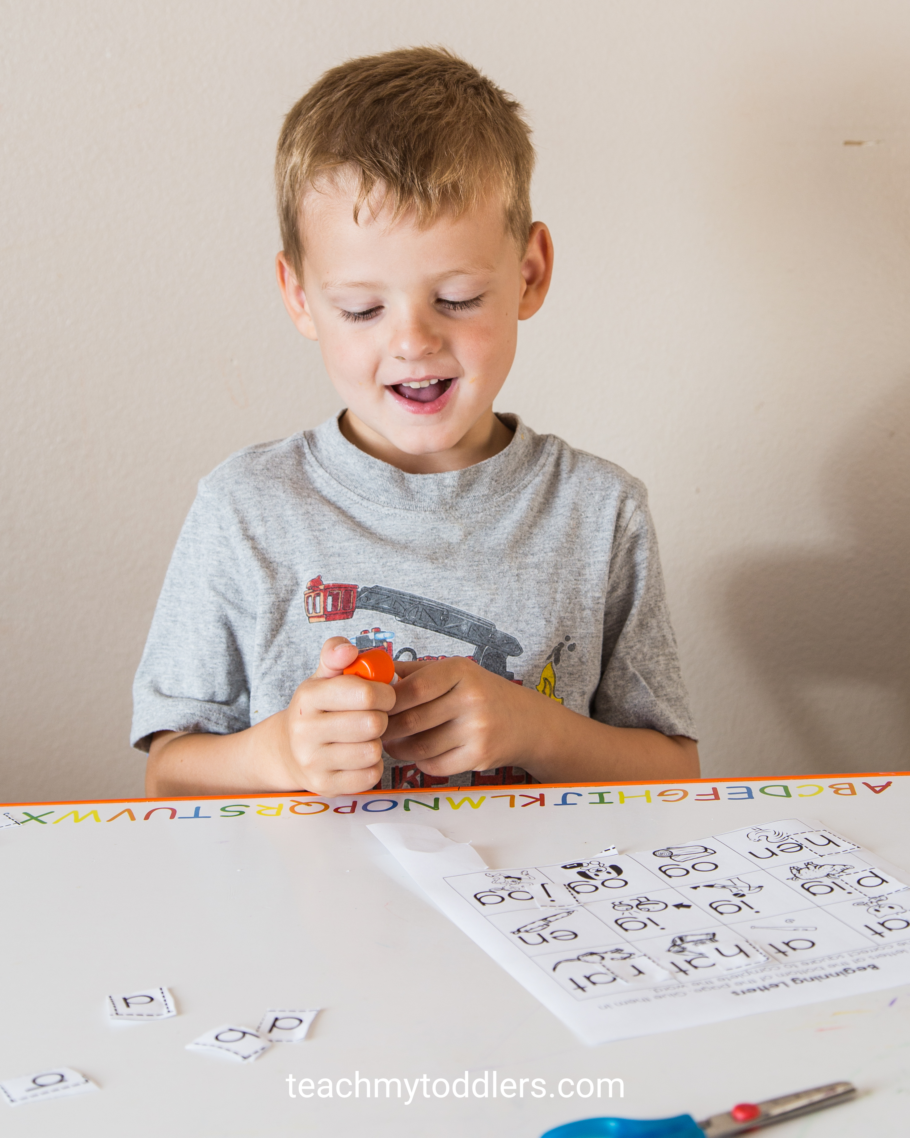 Find out how to use this cut and paste activity to teach your preschoolers about letters