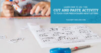 Learn how to use this cut and paste activity to teach your preschoolers about letters