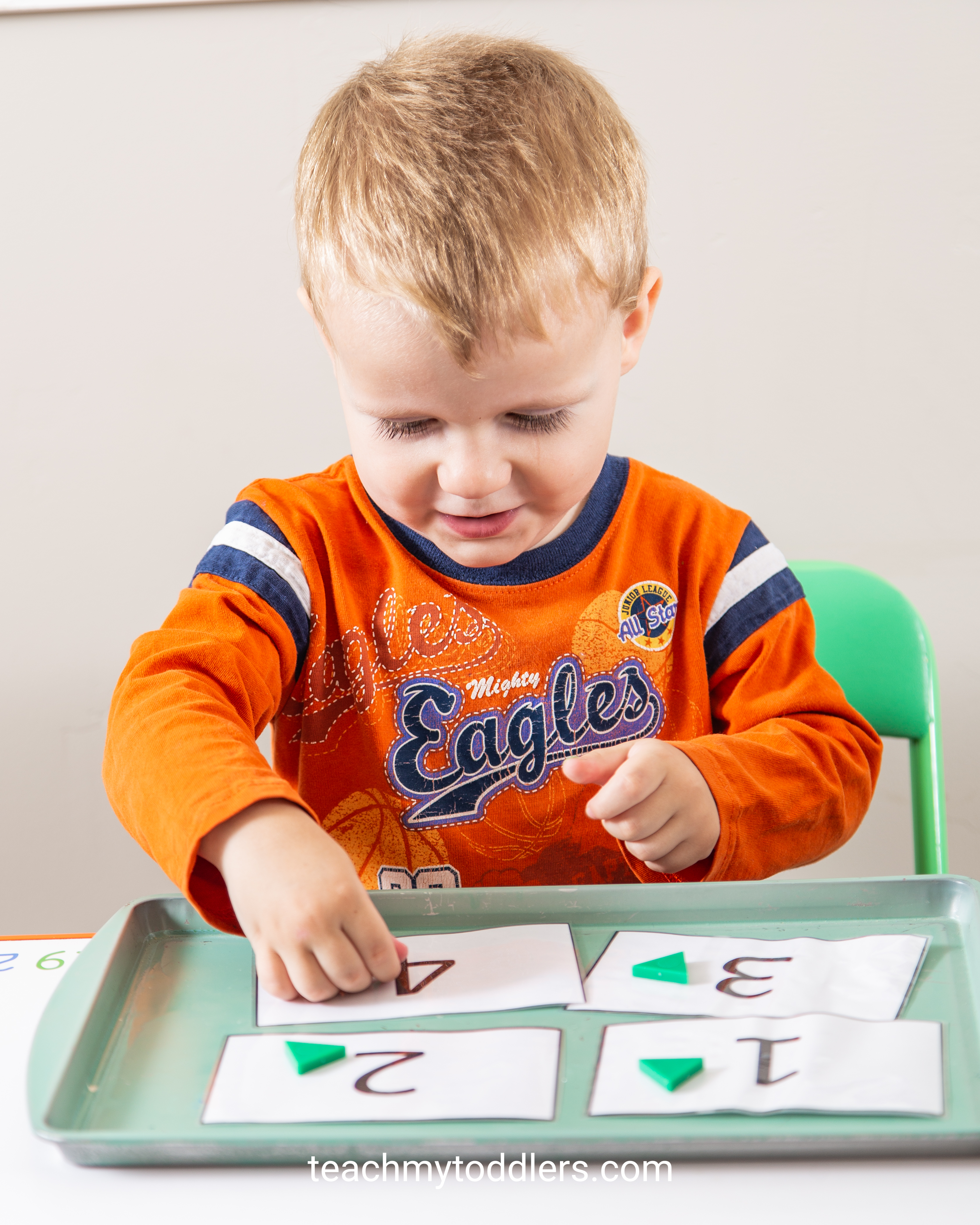 Find out how to use these triangle activities to teach toddlers shapes