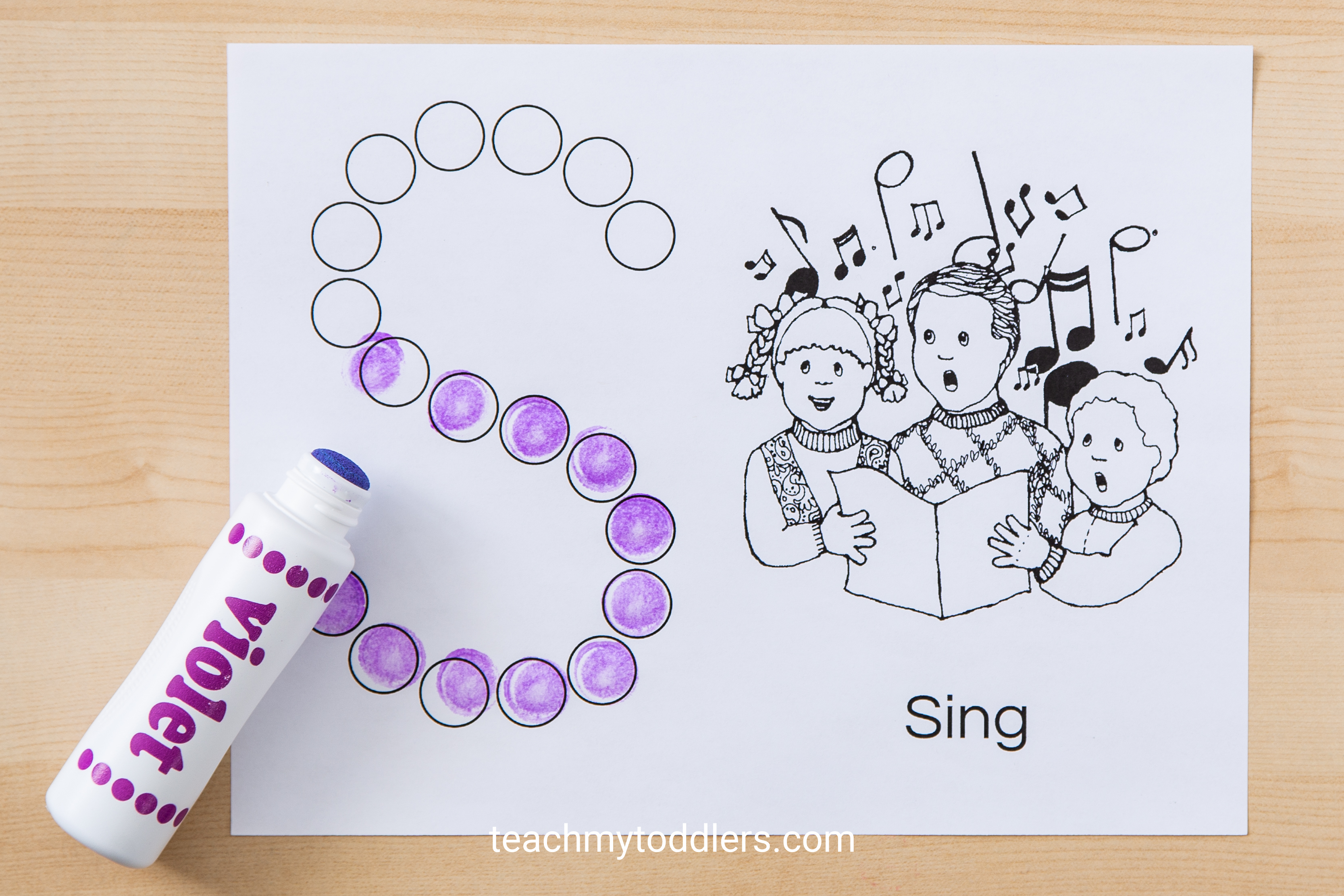 Print out these awewsome free do a dot pages for your toddlers during general conference