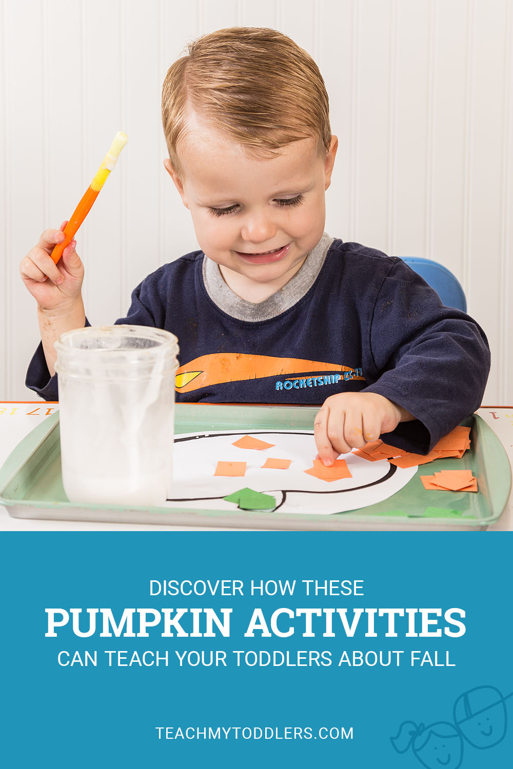 Discover how these pumpkin activities can teach toddlers about fall