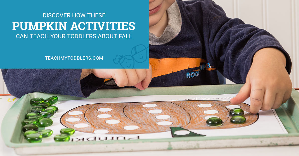 Discover how these pumpkin activities can teach your toddlers about fall