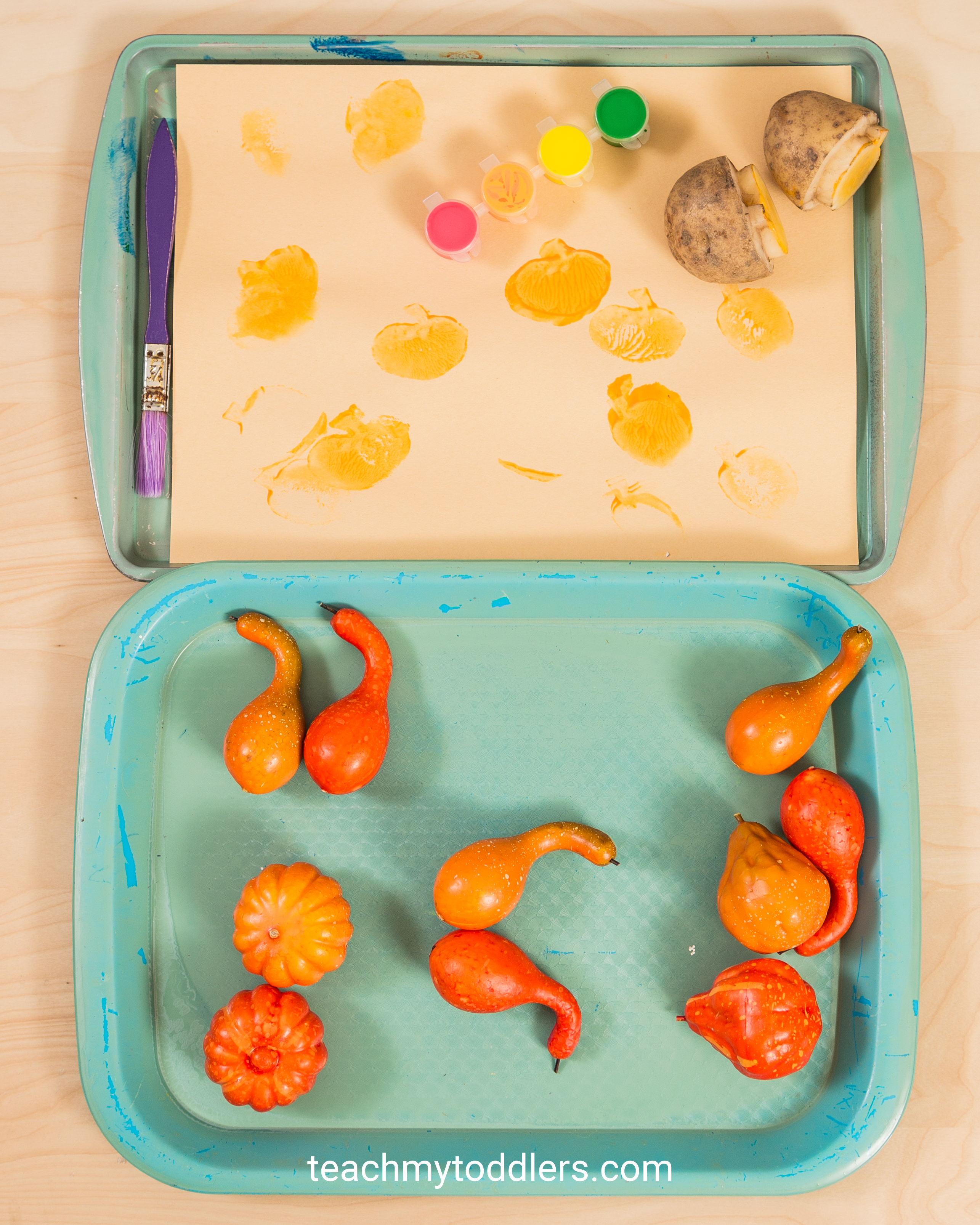 Learn how these pumpkin activities can teach your toddlers about fall