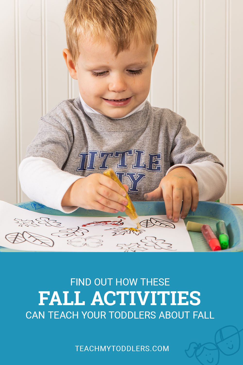 Find out how these fall activities can teach toddlers about fall