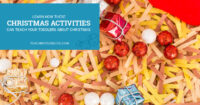 Learn how these christmas activities can teach your toddlers about christmas