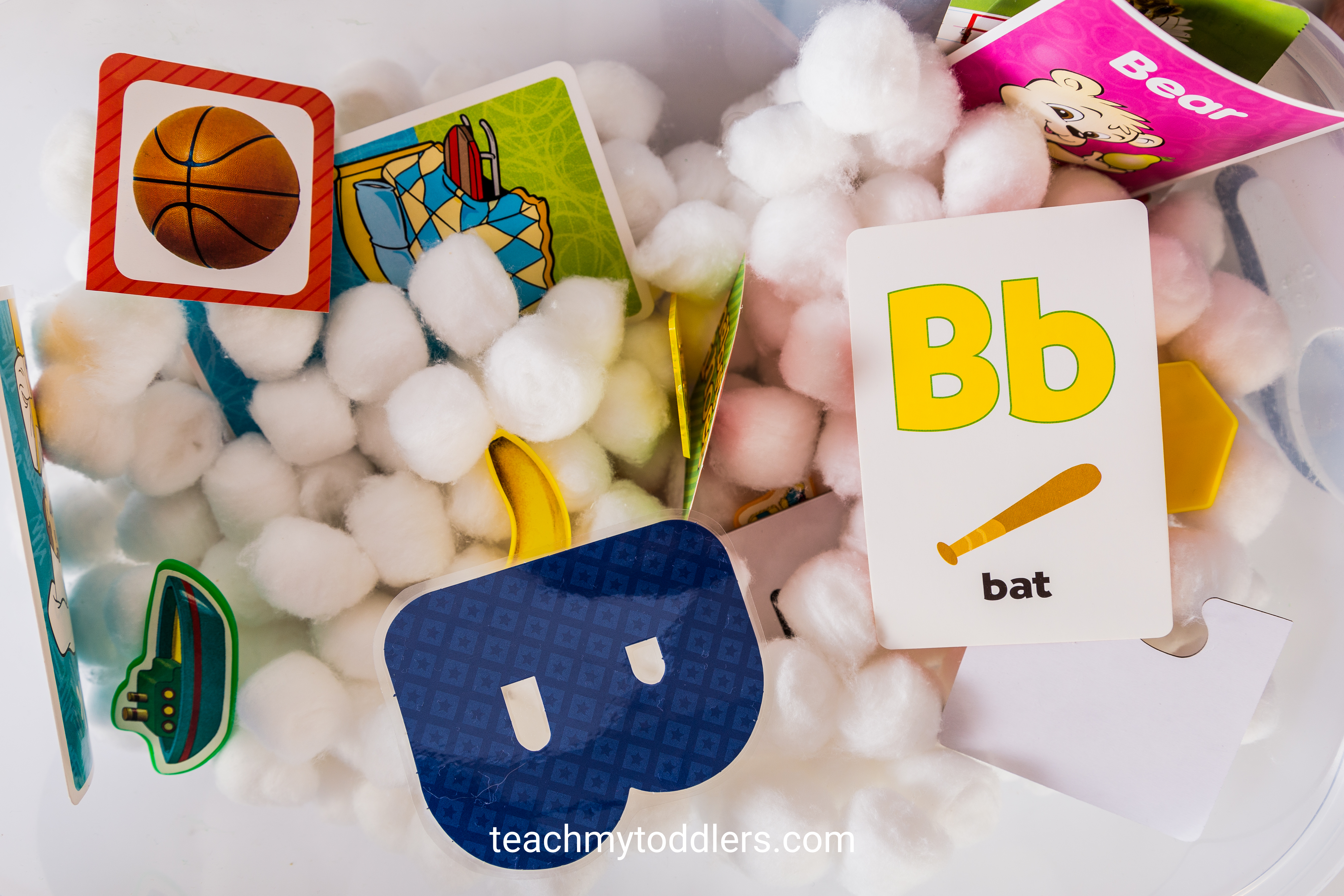 Discover how to use these b is for baby activities to teach toddlers letter b