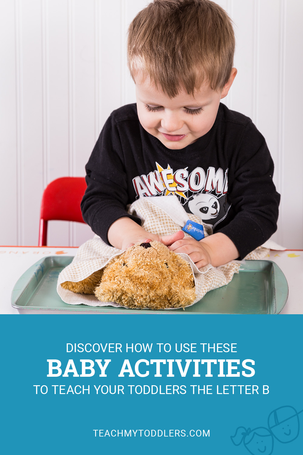 Discover how to use these b is for baby activities to teach your toddlers the letter b
