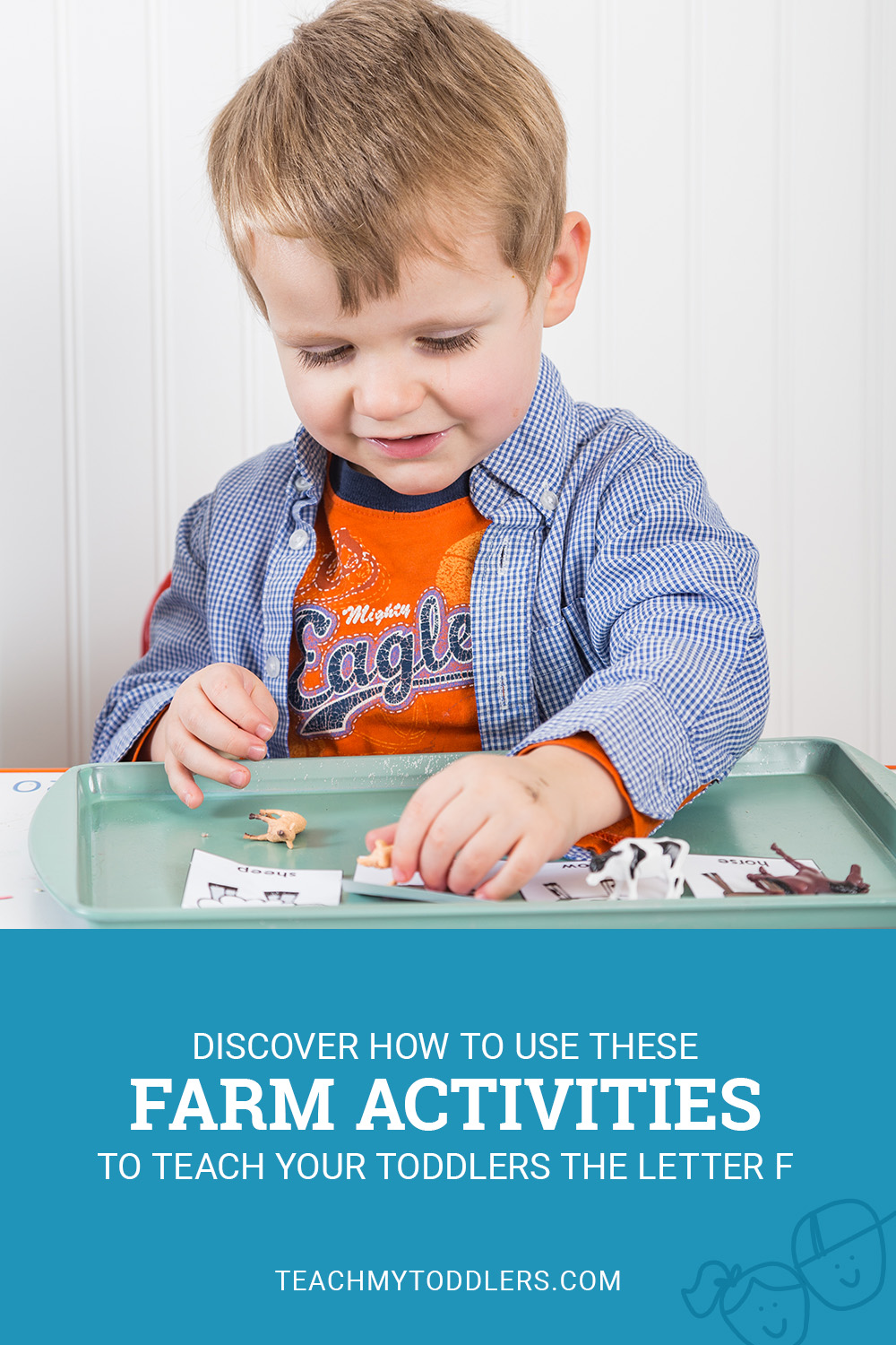 Discover how to use these f is for farm activities to teach toddlers the letter f