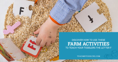 Discover how to use these f is for farm activities to teach your toddlers the letter f