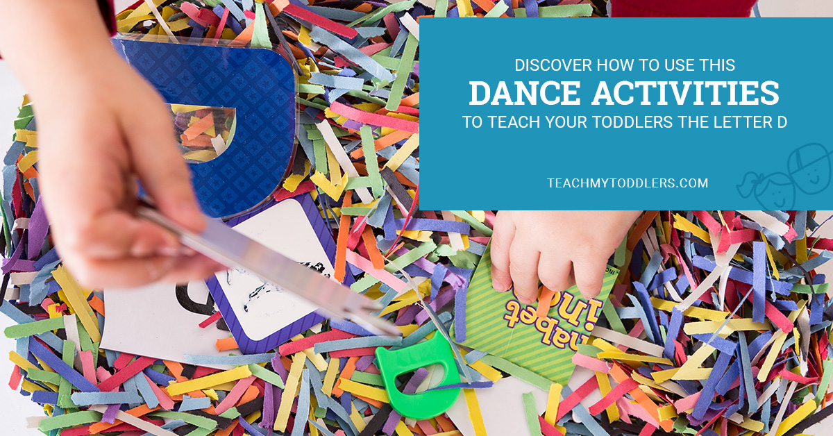 Discover how to use this d is for dance activities to teach toddlers the letter d