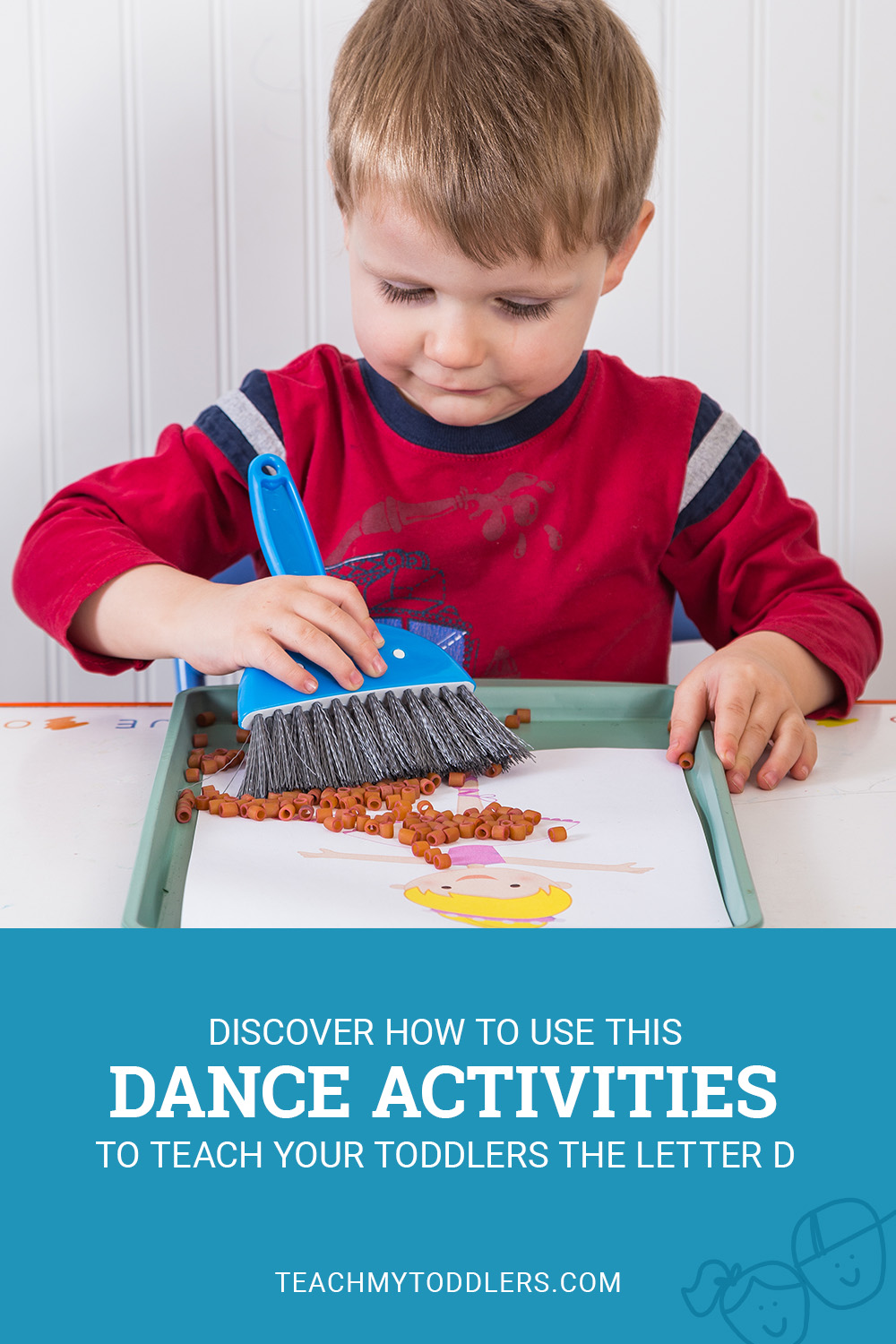 Discover how to use this d is for dance activities to teach your toddlers the letter d