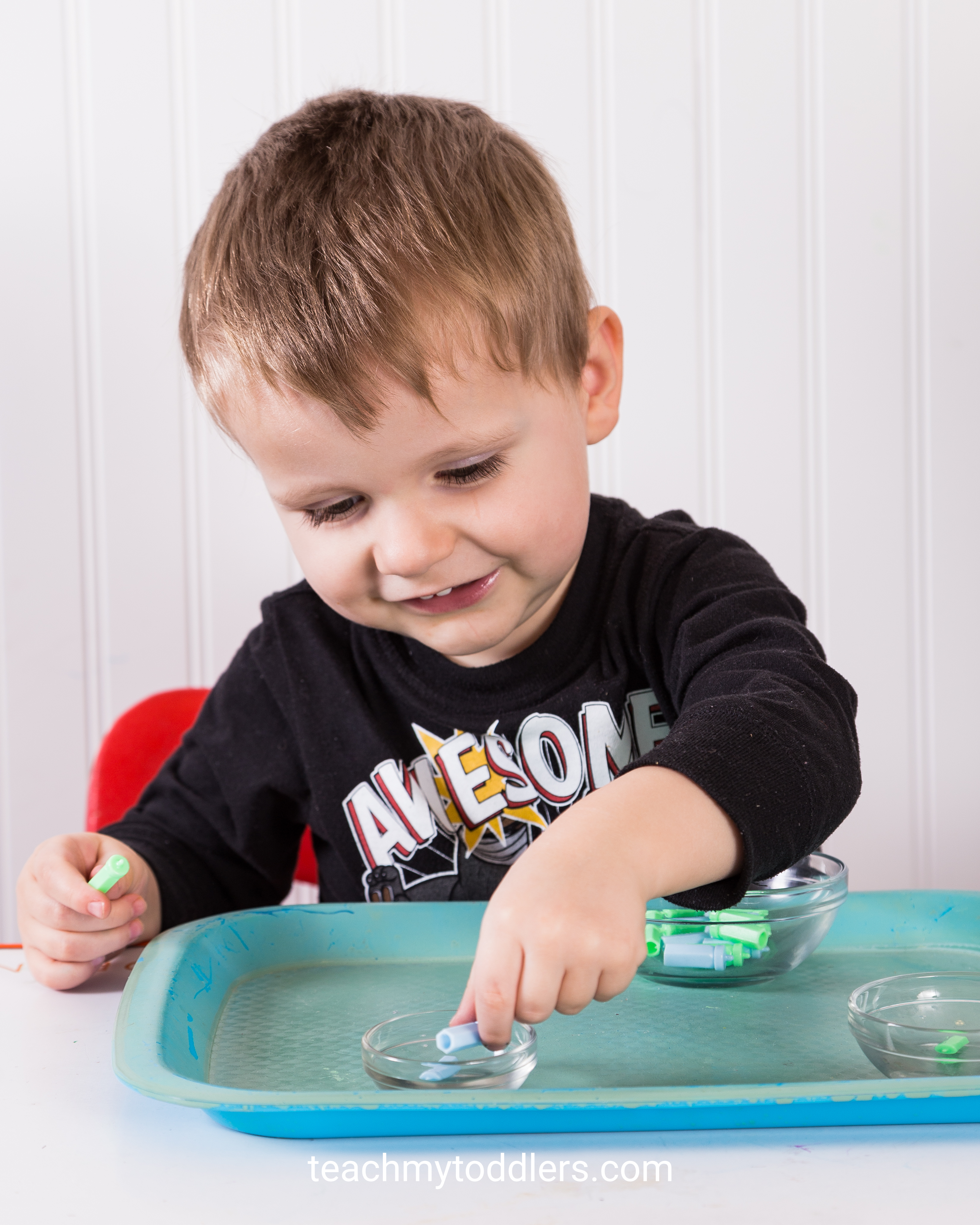 Find how to use these b is for baby activities to teach toddlers the letter b