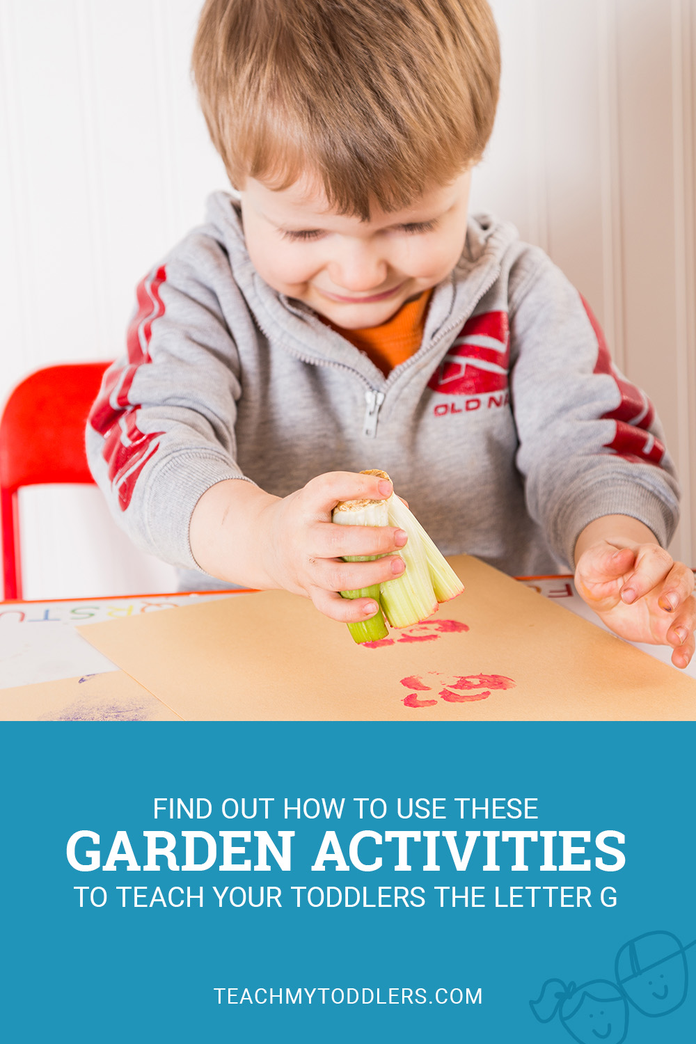Find out how to use these g is for garden activities to teach your toddlers the letter g