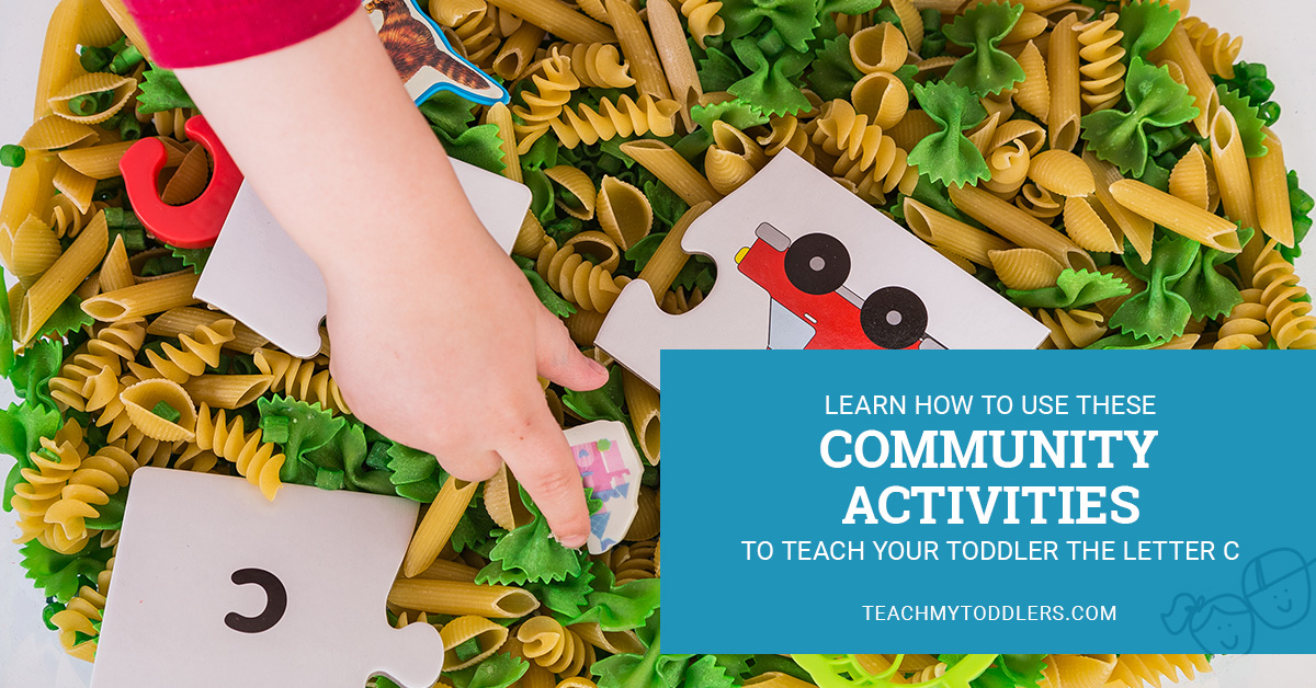 Learn how to use this c is for community helpers activities to teach toddler the letter c