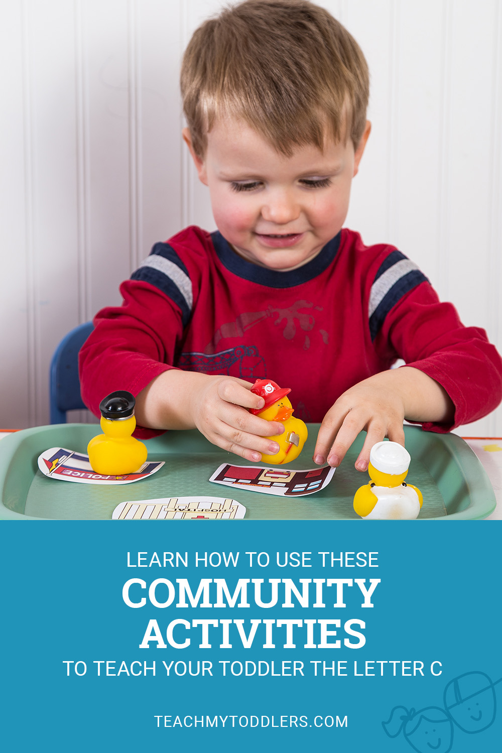 Learn how to use this c is for community helpers activities to teach your toddler the letter c