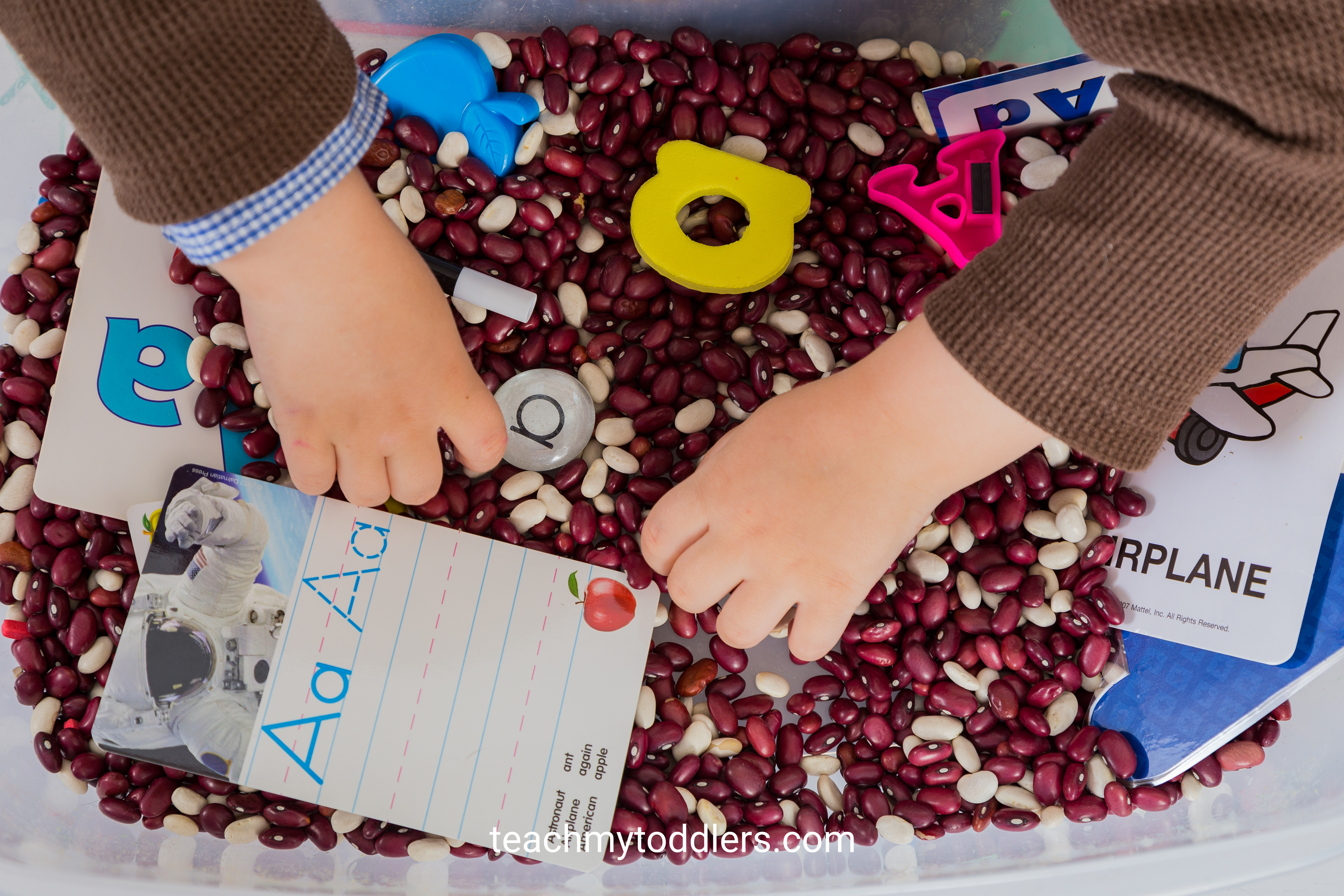 Teach toddlers that the letter a is for apples with these exciting activities