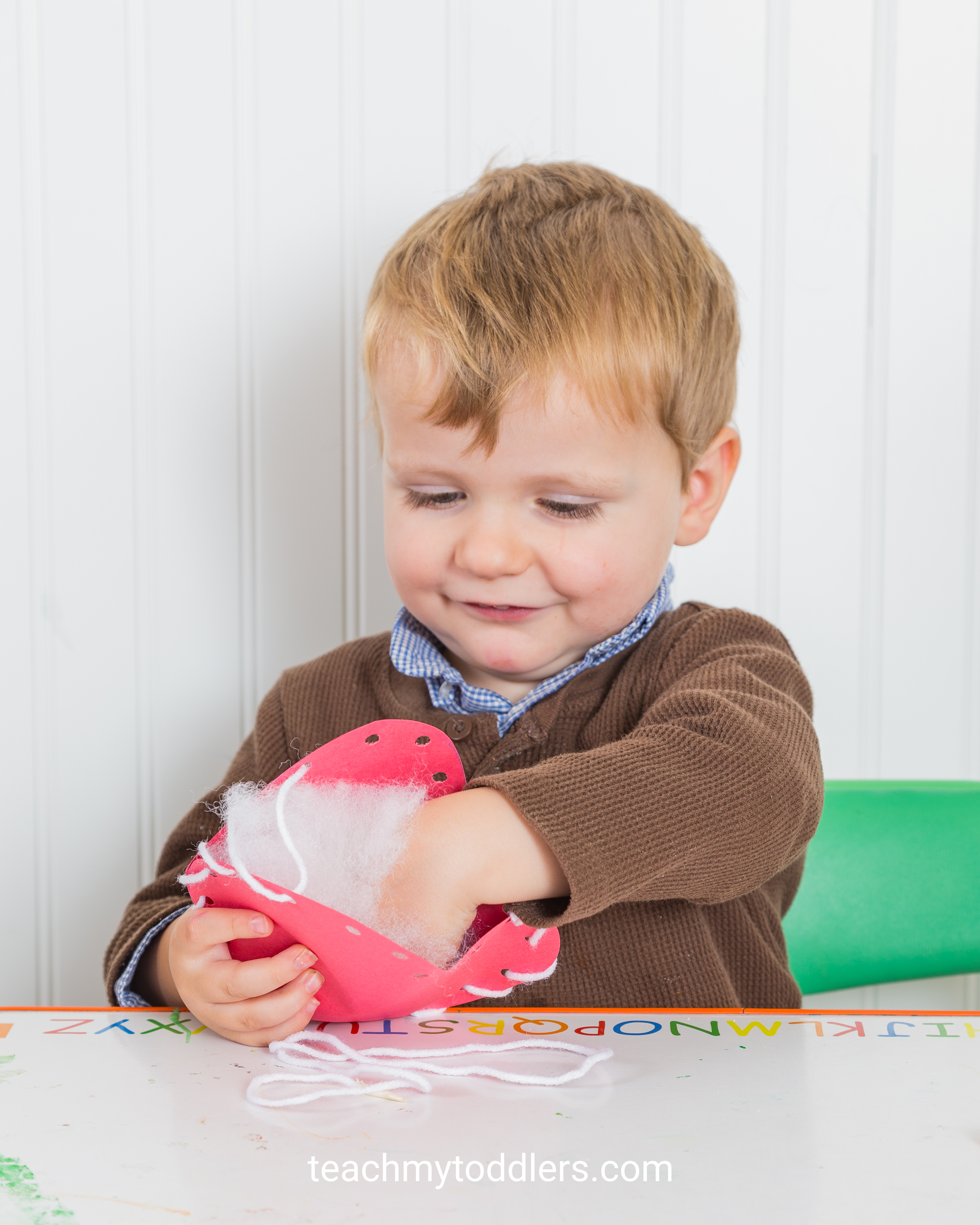 Teach toddlers that the letter a is for apples with these fun activities