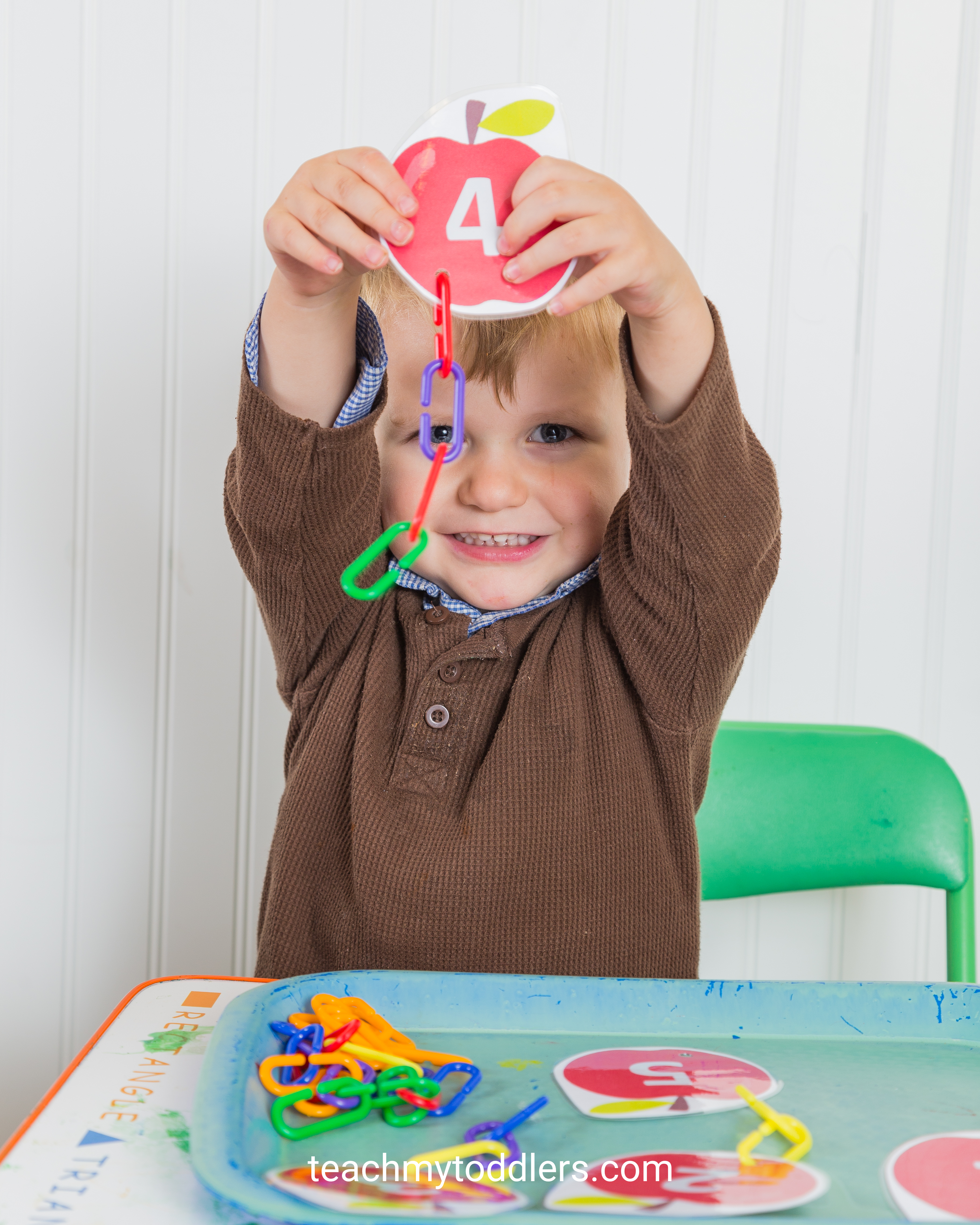 Teach your toddlers that the letter a is for apples with these awesome activities